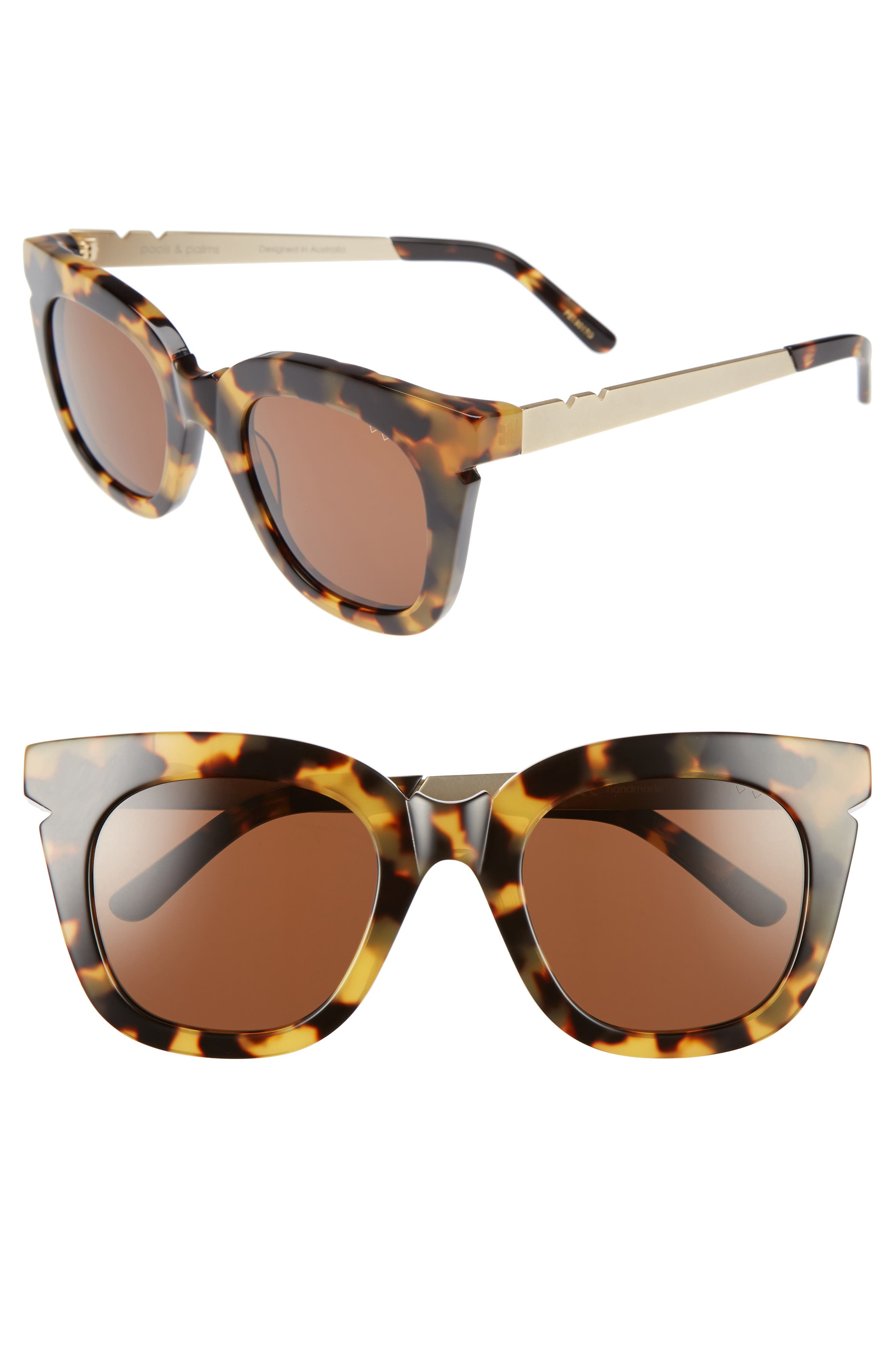 Pared Pools & Palms 50mm Sunglasses