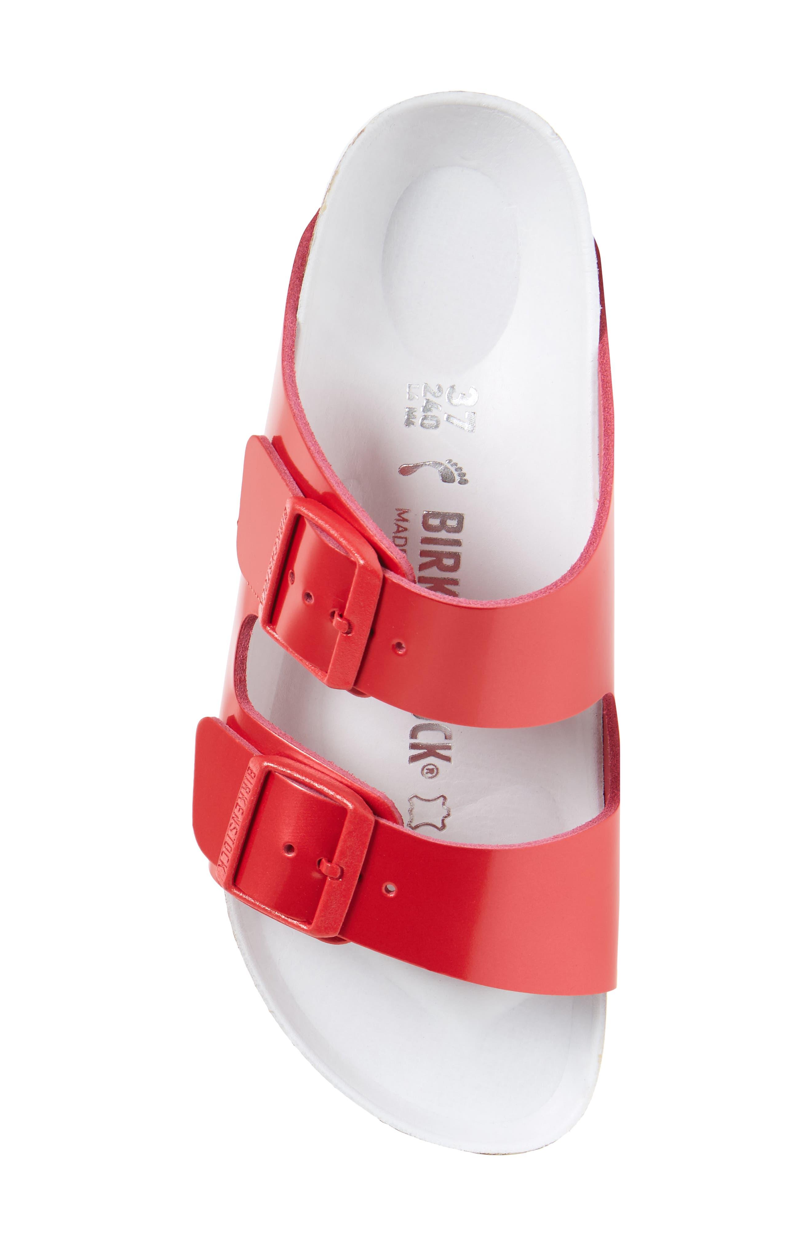 Alternate Image 5  - Birkenstock Arizona Hex Limited Edition - Shock Drop Slide Sandal (Women)