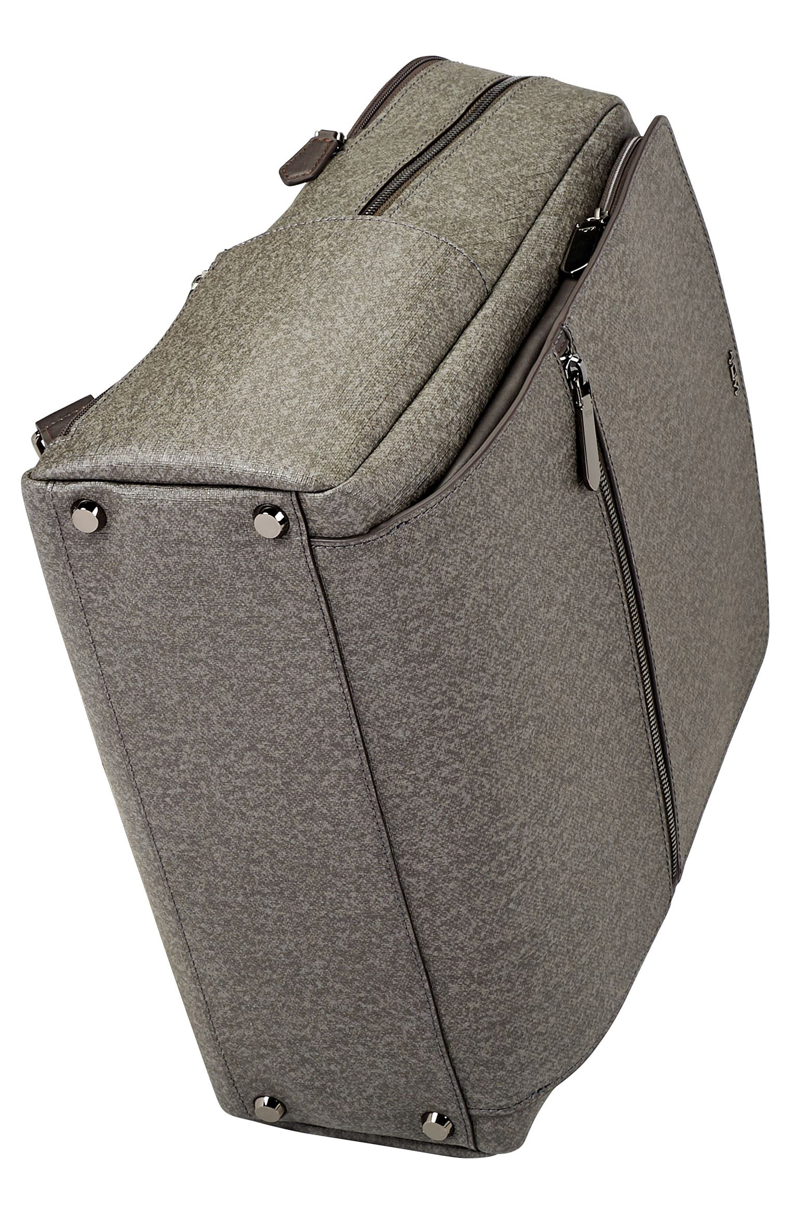 Stanton Becca Coated Canvas Backpack,                             Alternate thumbnail 5, color,                             Earl Grey