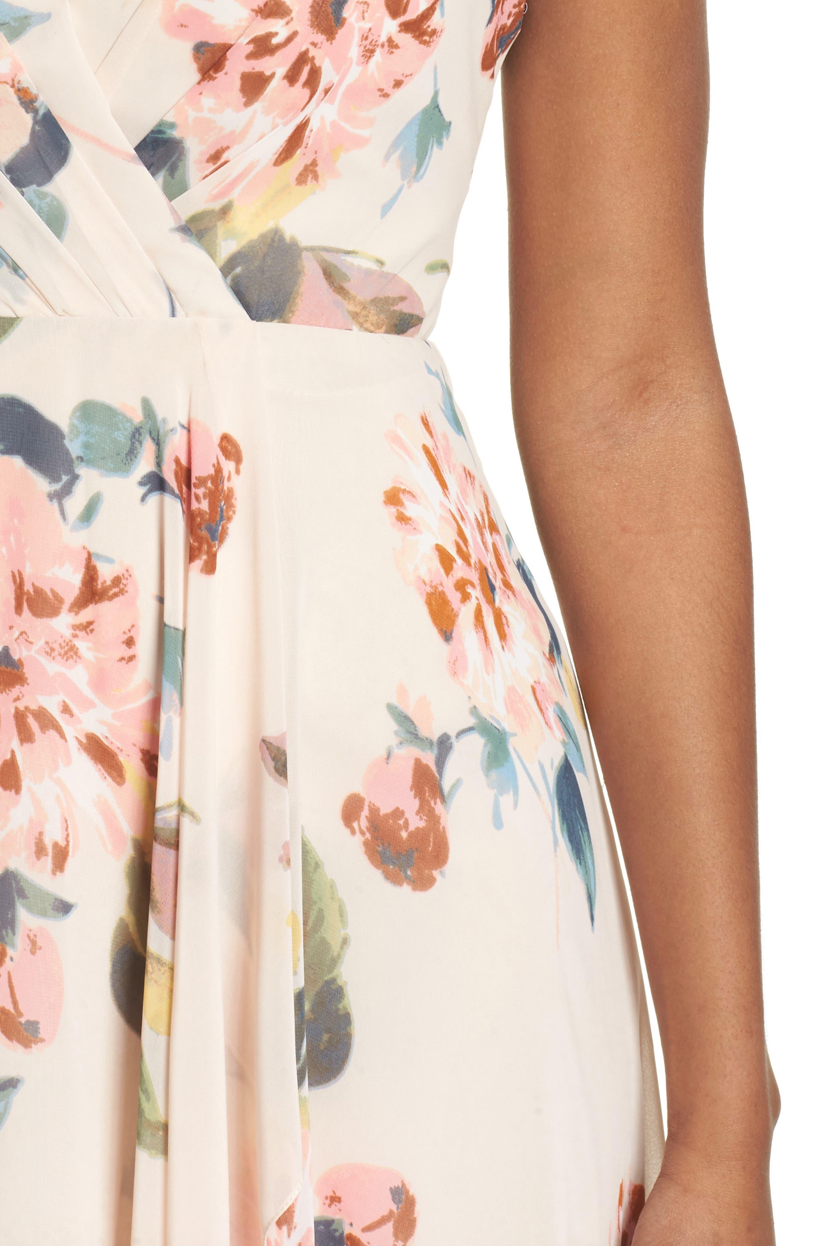 Alternate Image 4  - Jenny Yoo Farrah Halter Gown