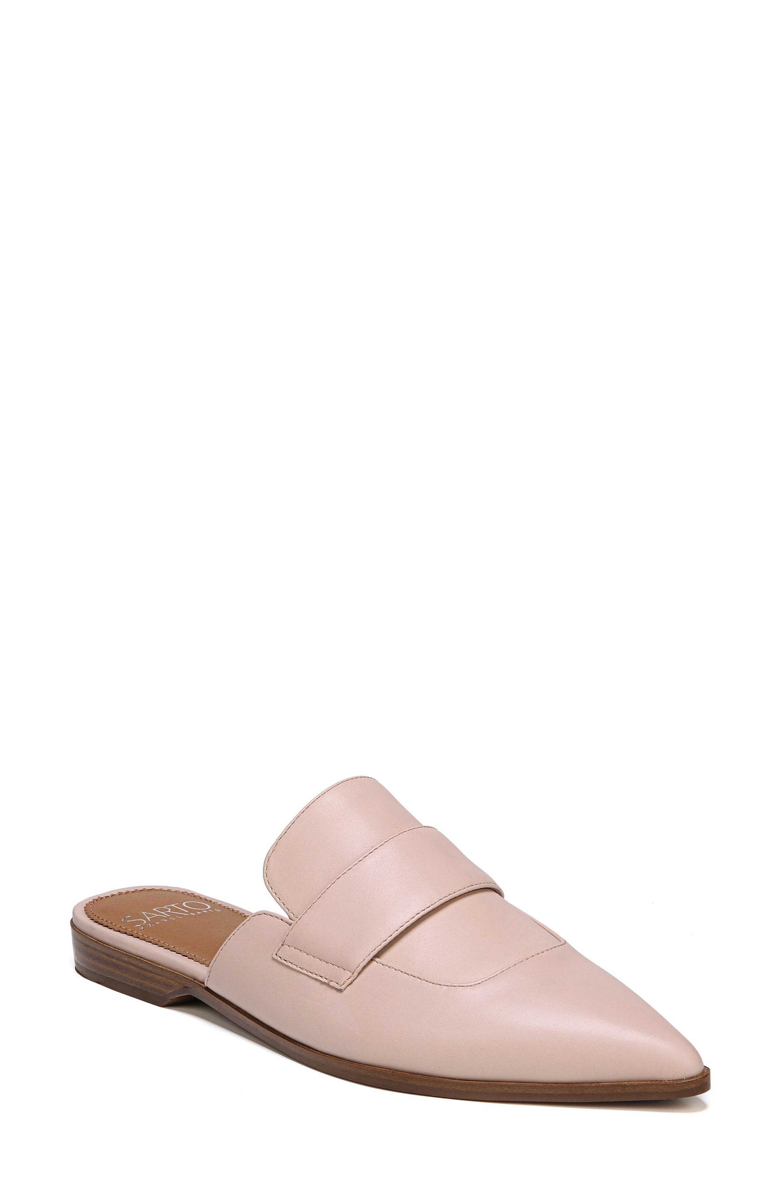 Palmer Mule,                         Main,                         color, Blush Leather
