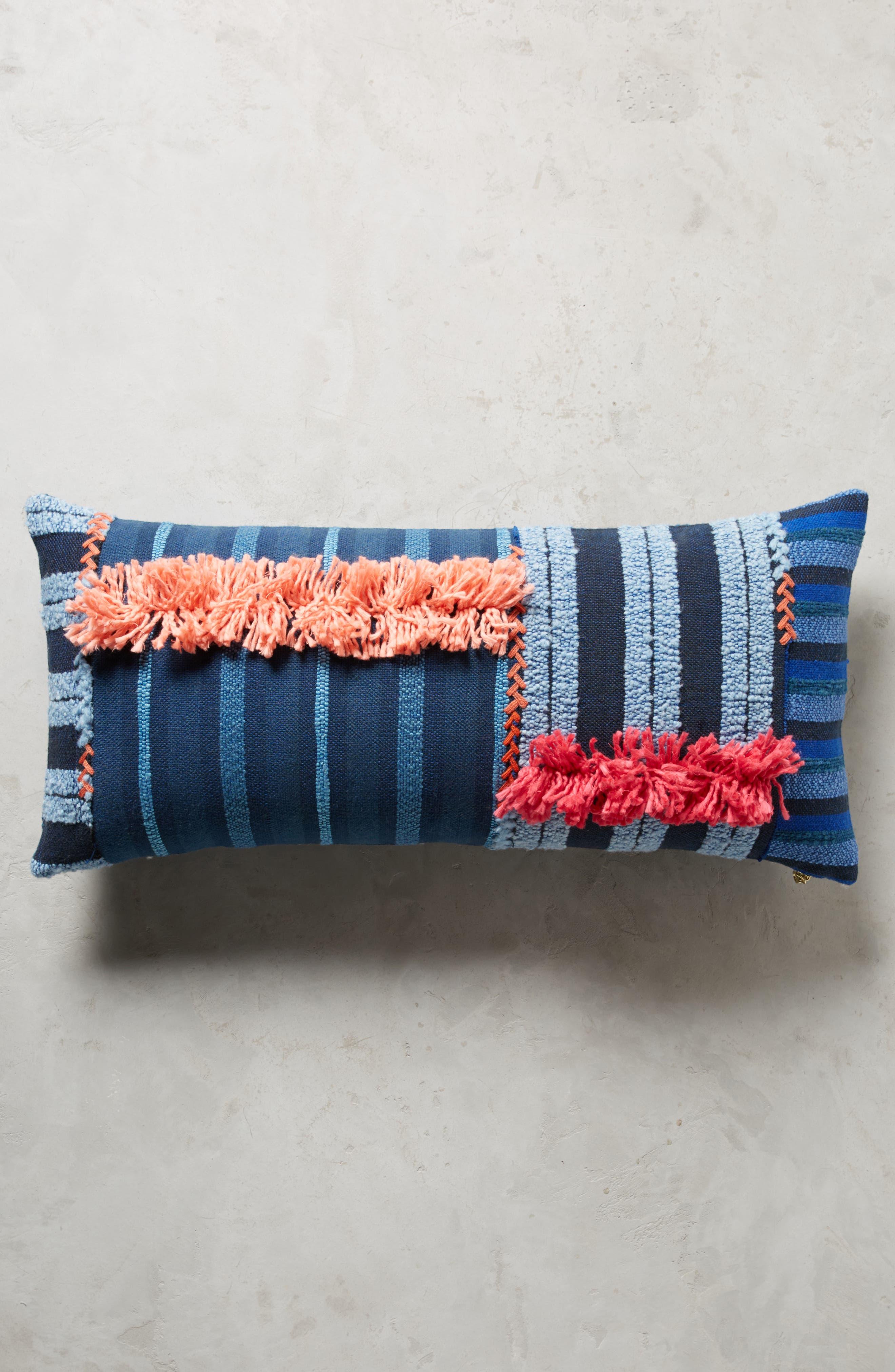 Yoursa Accent Pillow,                         Main,                         color, Blue