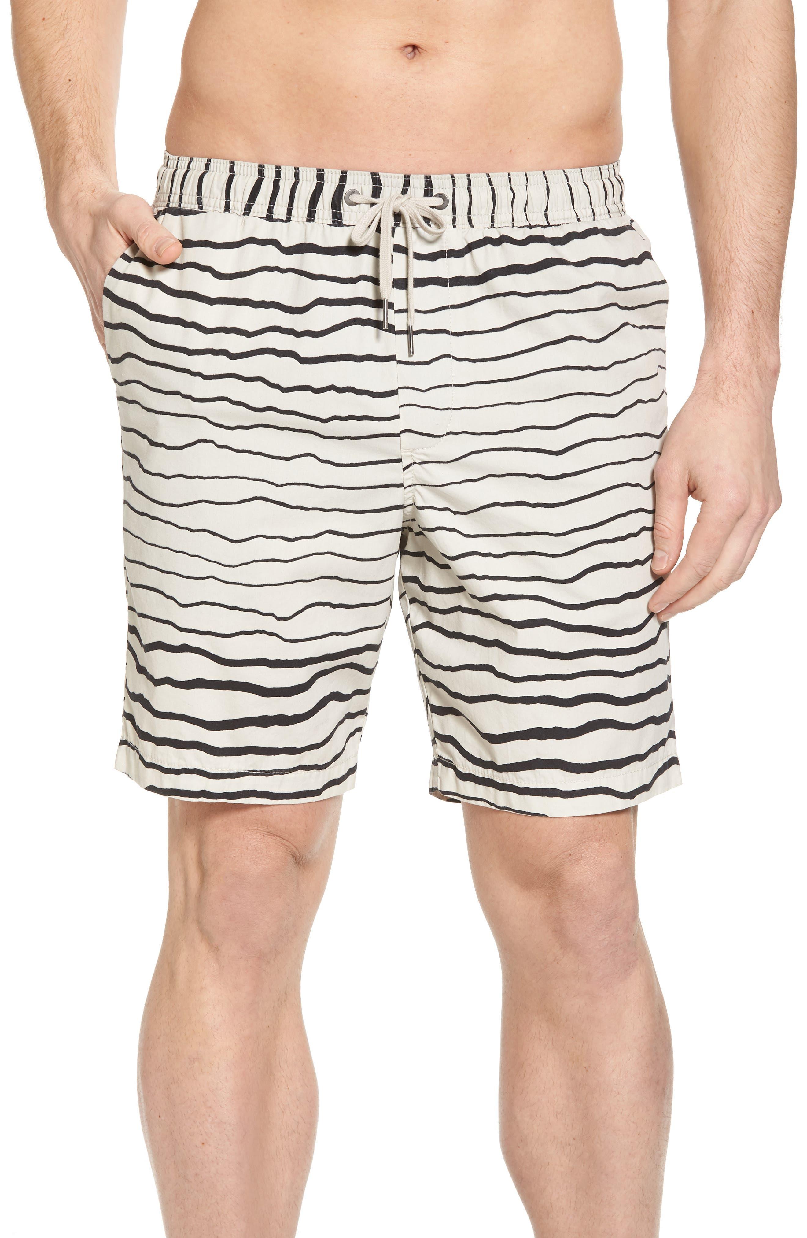Larry Layback Sunday Shorts,                         Main,                         color, Stone