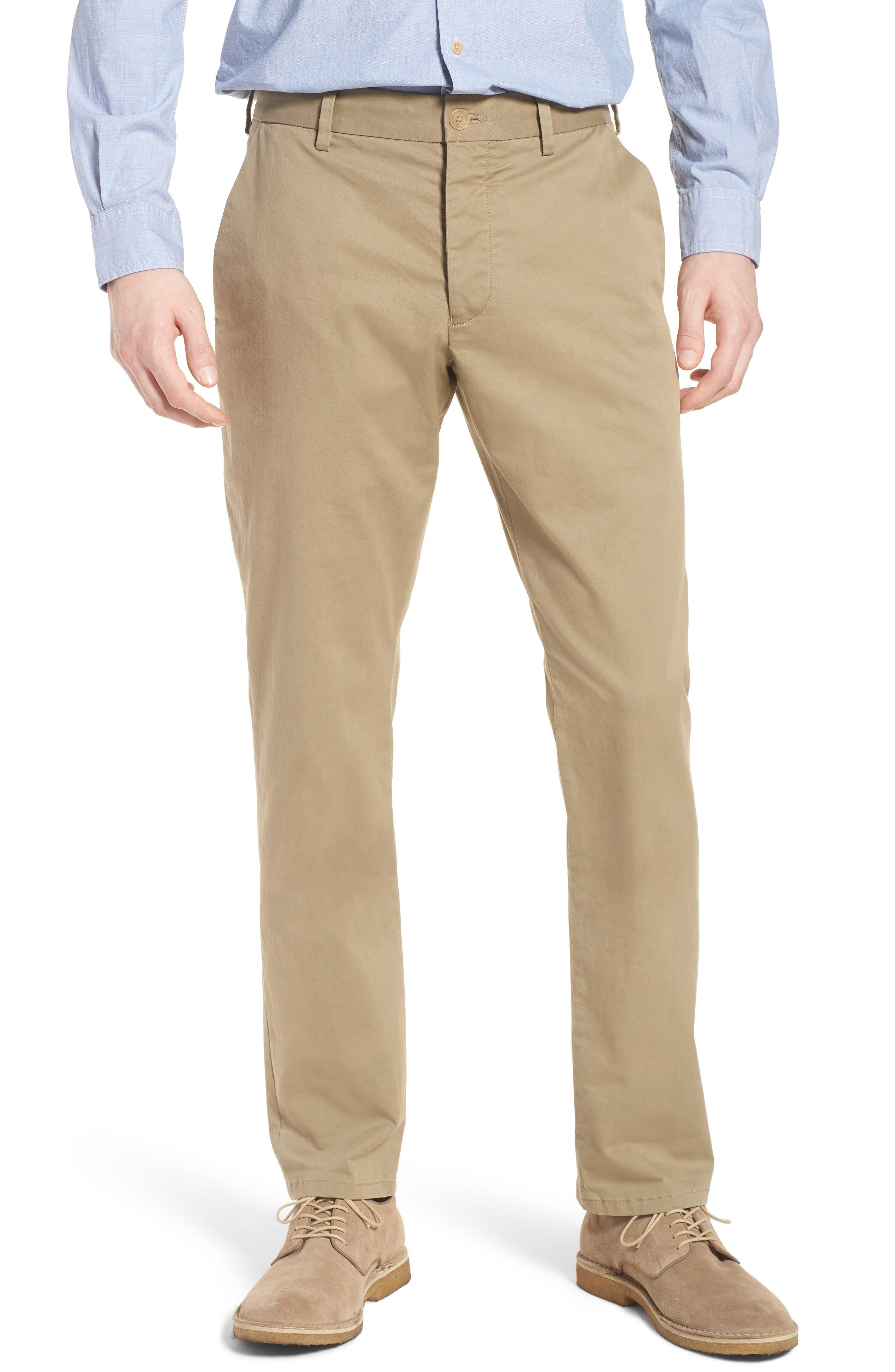 Machine Gun Stretch Chino Pants,                         Main,                         color, Timber