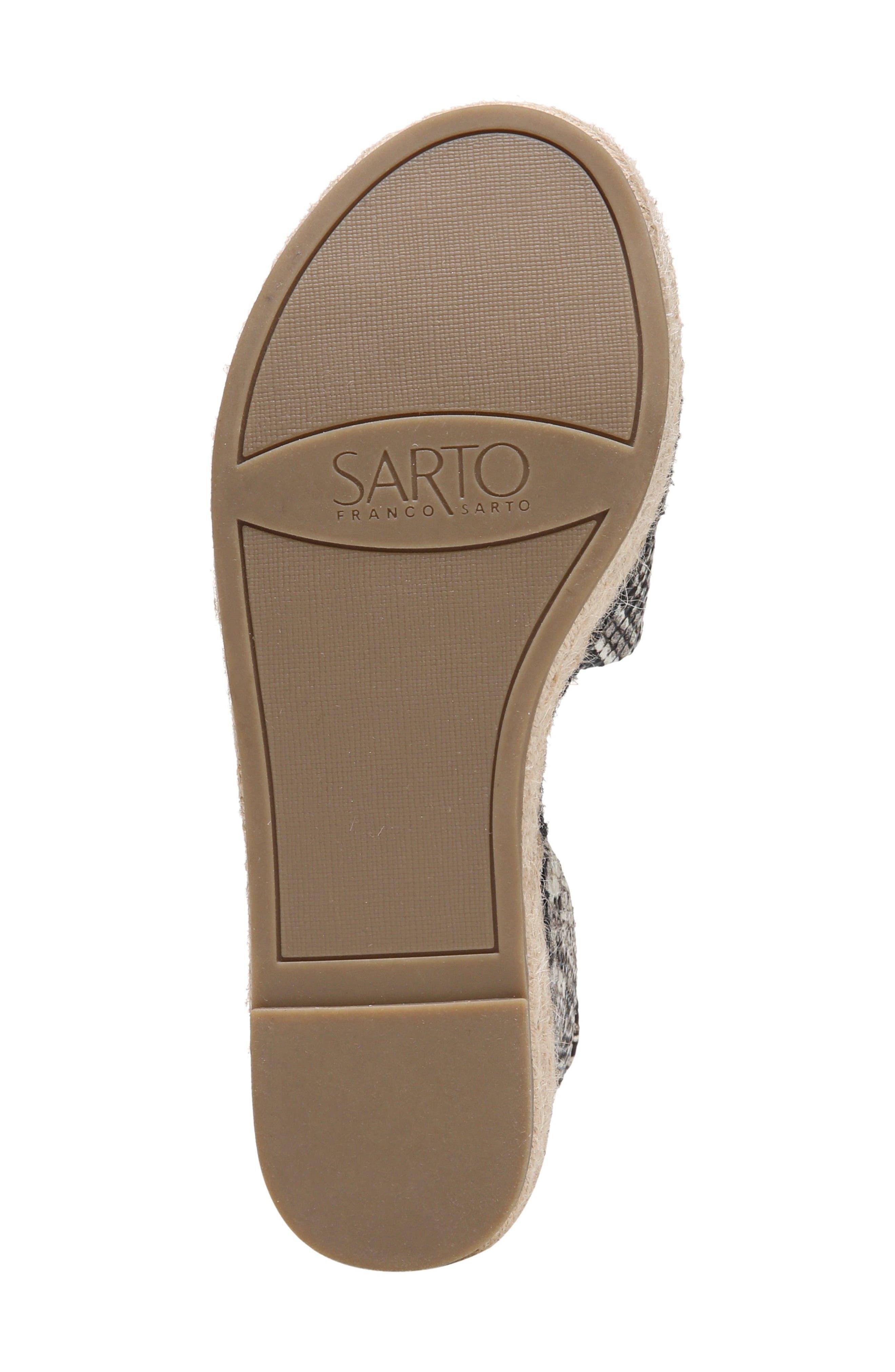 Alternate Image 7  - SARTO by Franco Sarto Maisi Platform Espadrille Sandal (Women)
