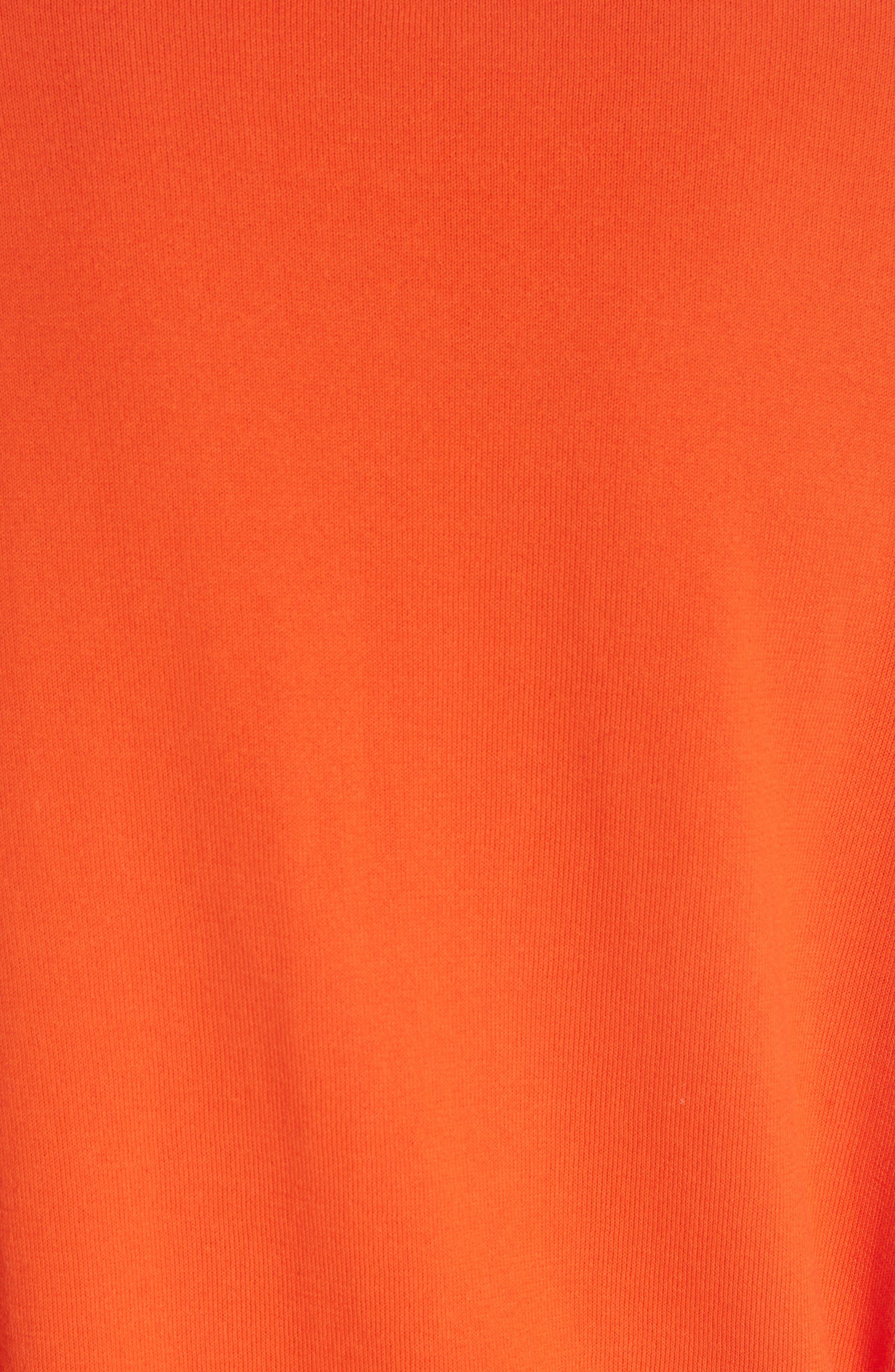 Alyssa Sweater,                             Alternate thumbnail 5, color,                             Sweet Tangerine