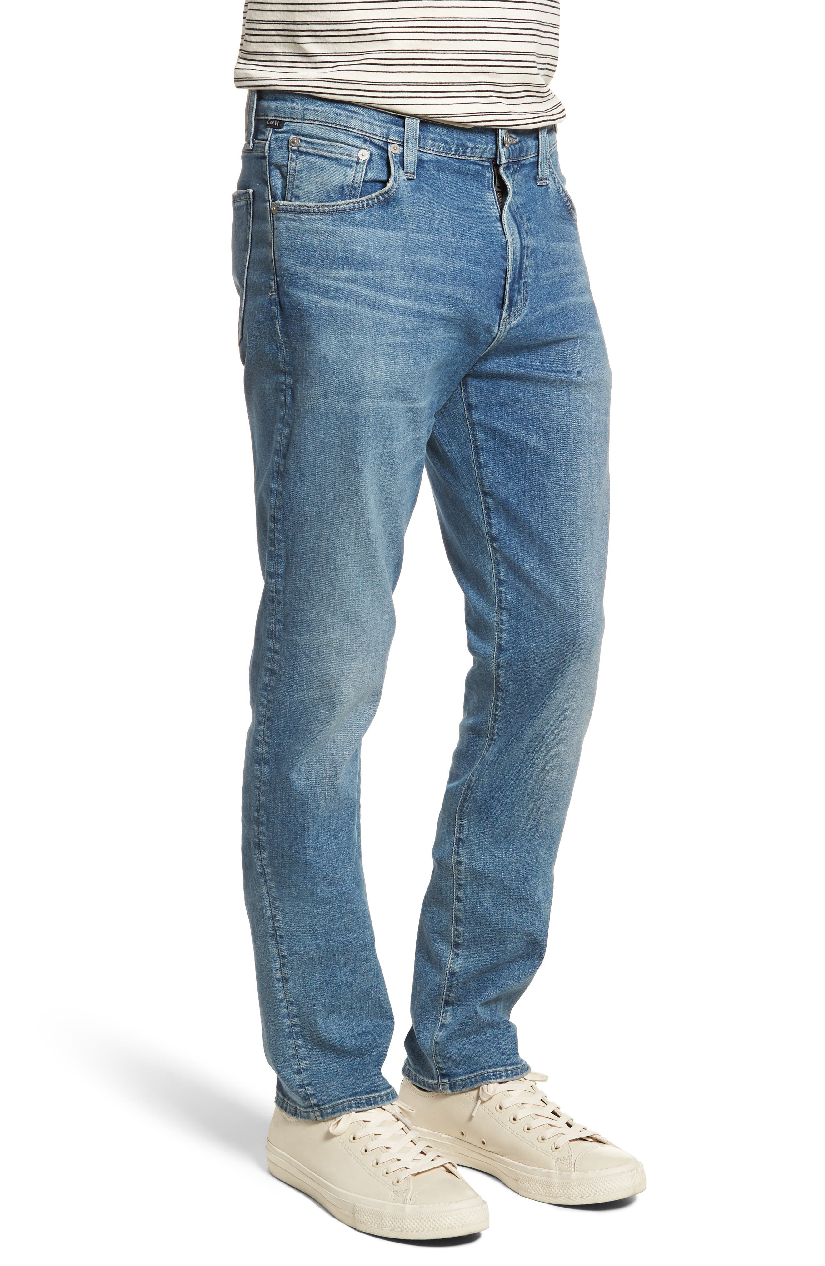 Gage Slim Straight Leg Jeans,                             Alternate thumbnail 3, color,                             Hemingway