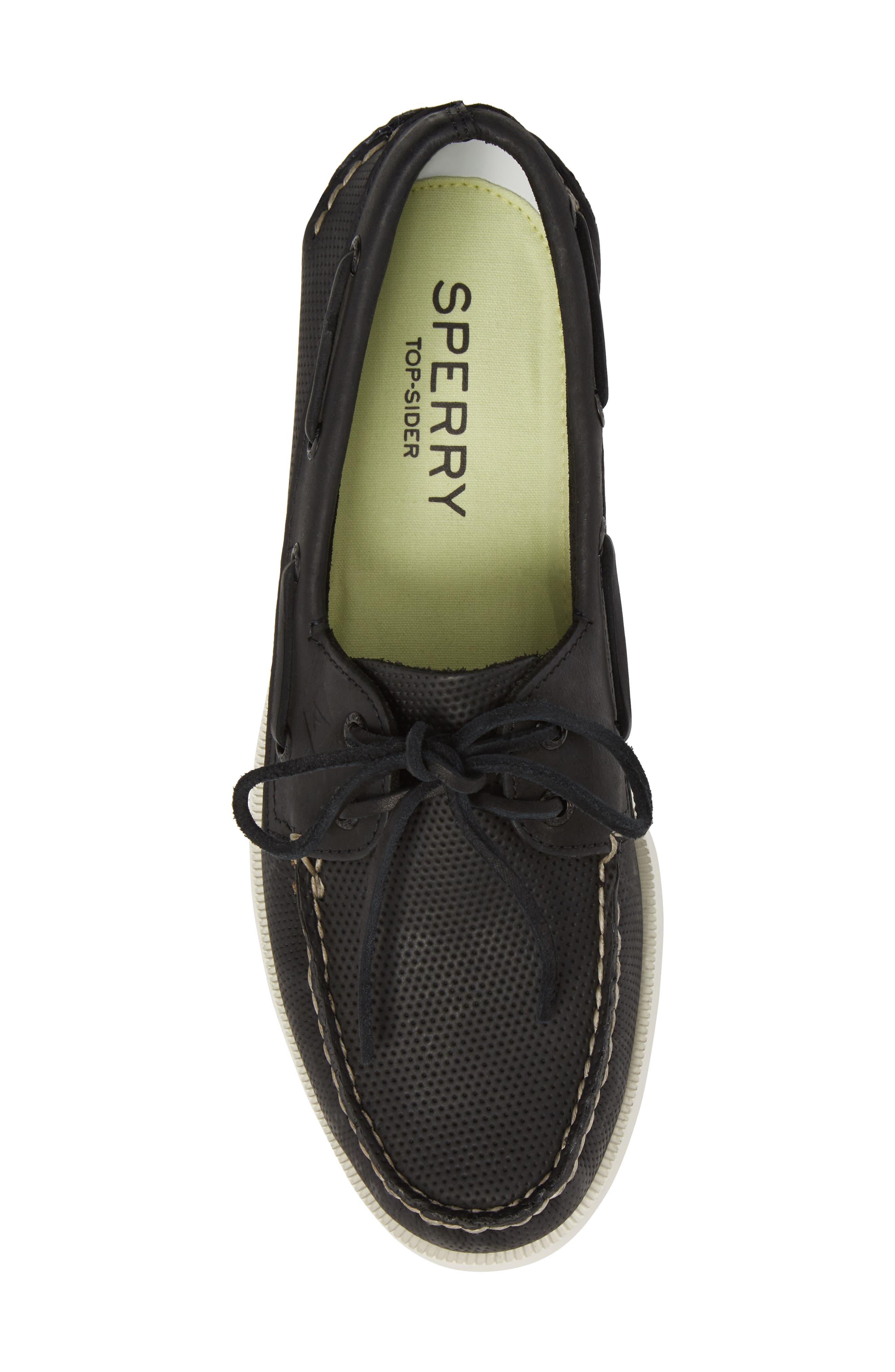 Alternate Image 5  - Sperry AO 2 Eye Perforated Boat Shoe (Men)