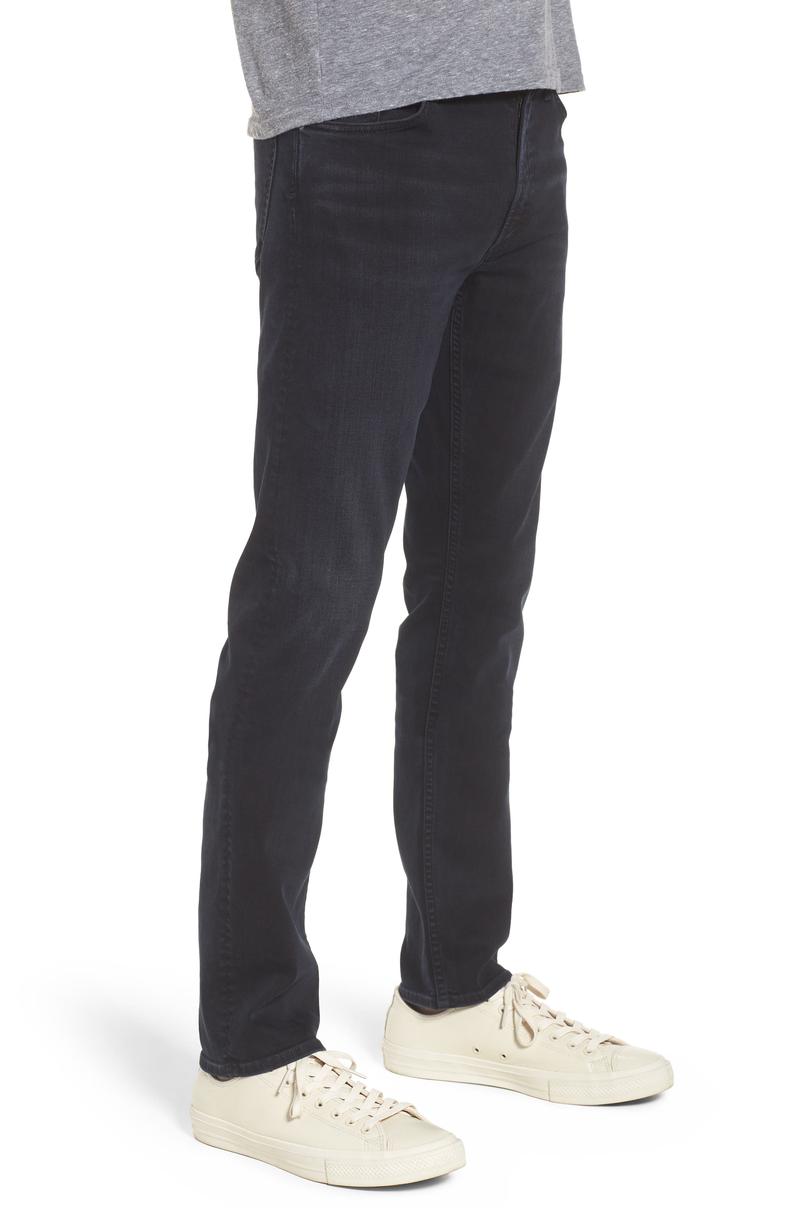 Bowery Slim Fit Jeans,                             Alternate thumbnail 3, color,                             Ink