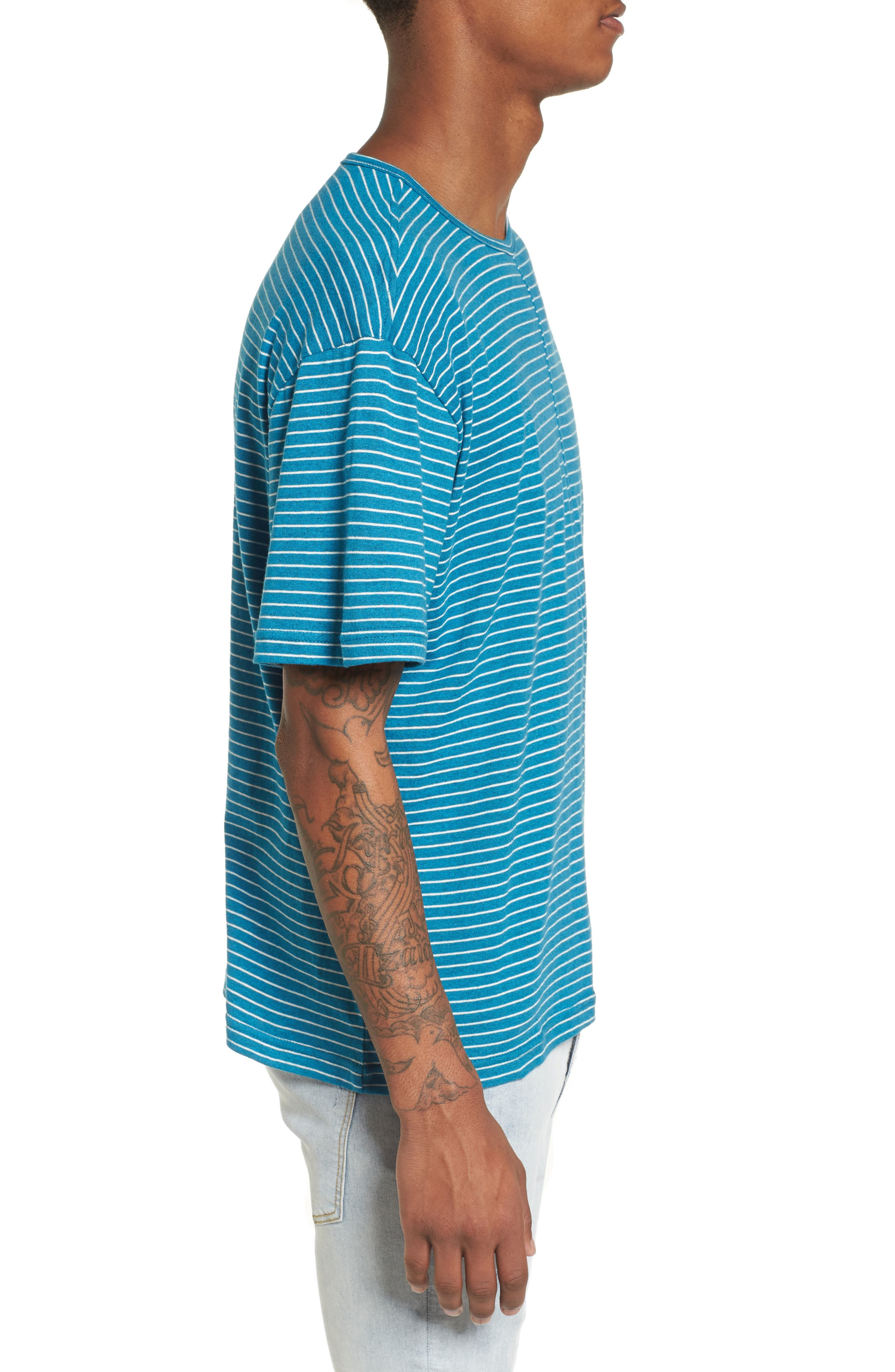 Boost T-Shirt,                             Alternate thumbnail 3, color,                             Teal