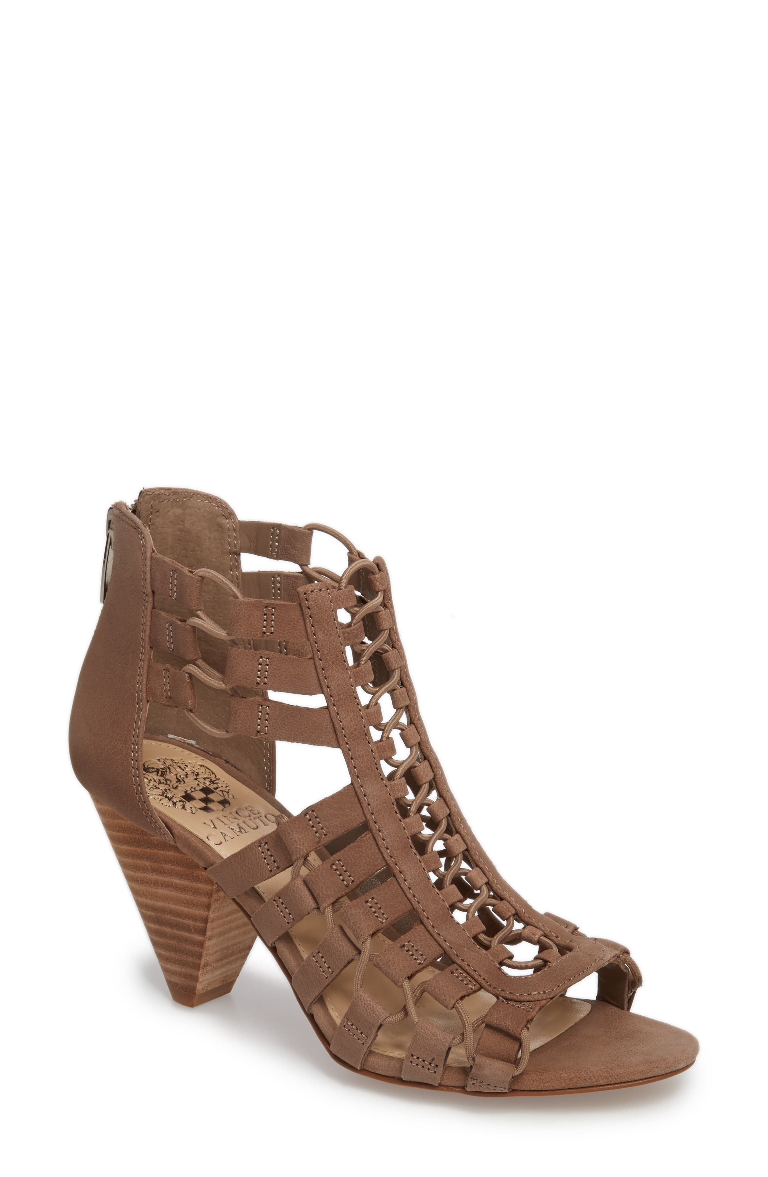 Sandals for Women On Sale, Red, suede, 2017, 3.5 4.5 5.5 7.5 Jeffrey Campbell