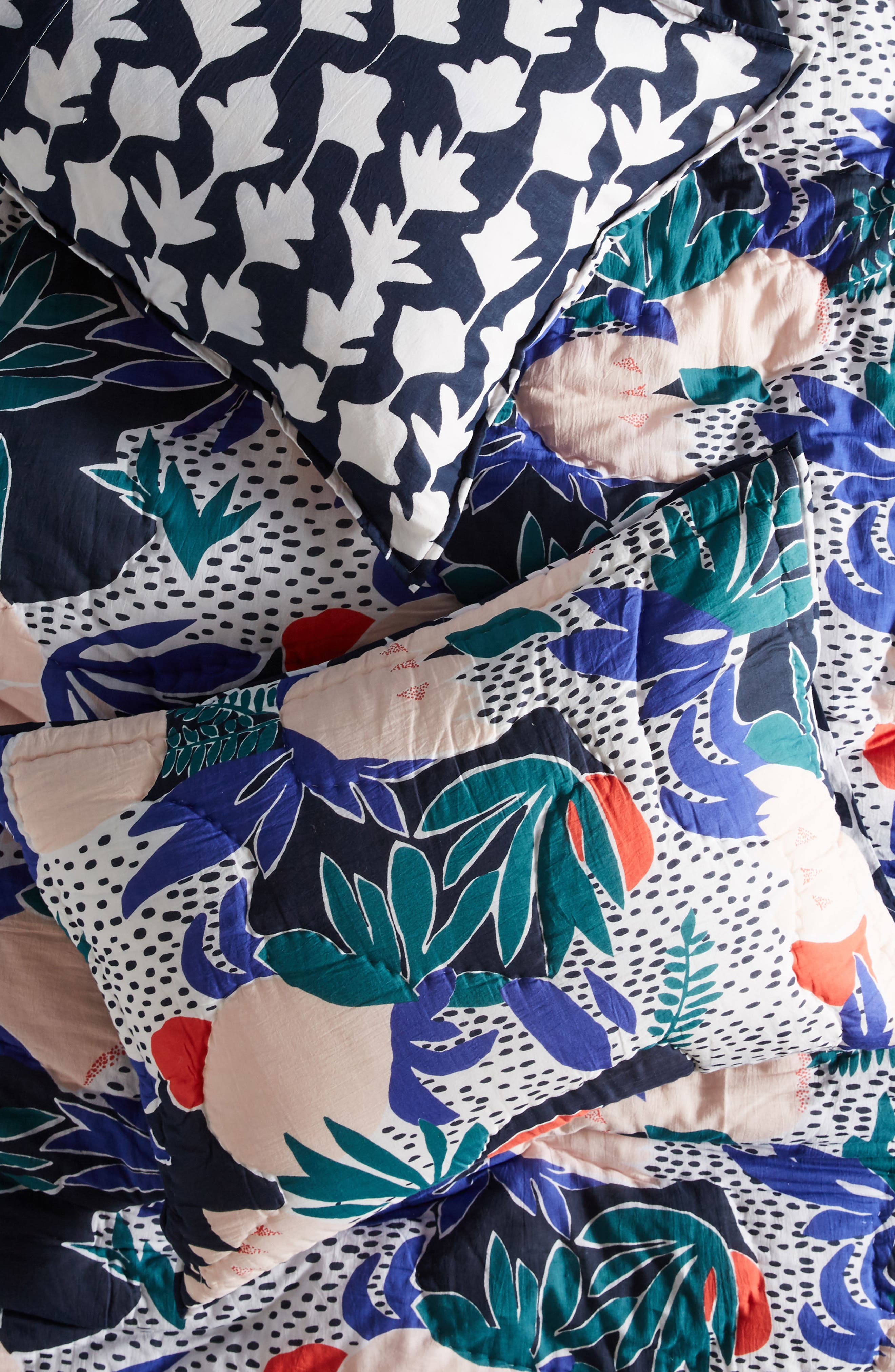Main Image - Anthropologie Cassie Byrnes Melbourne Pillow Shams
