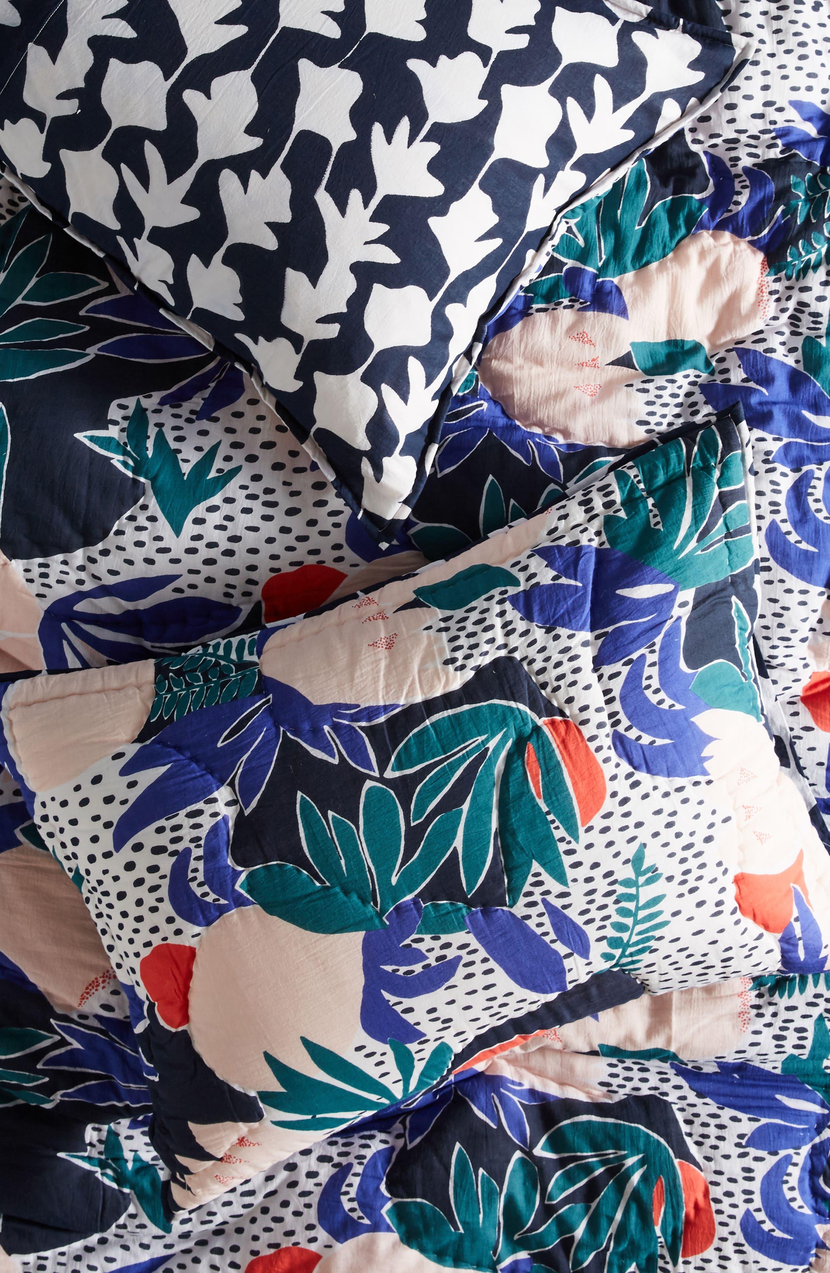 Cassie Byrnes Melbourne Pillow Shams,                         Main,                         color, Blue