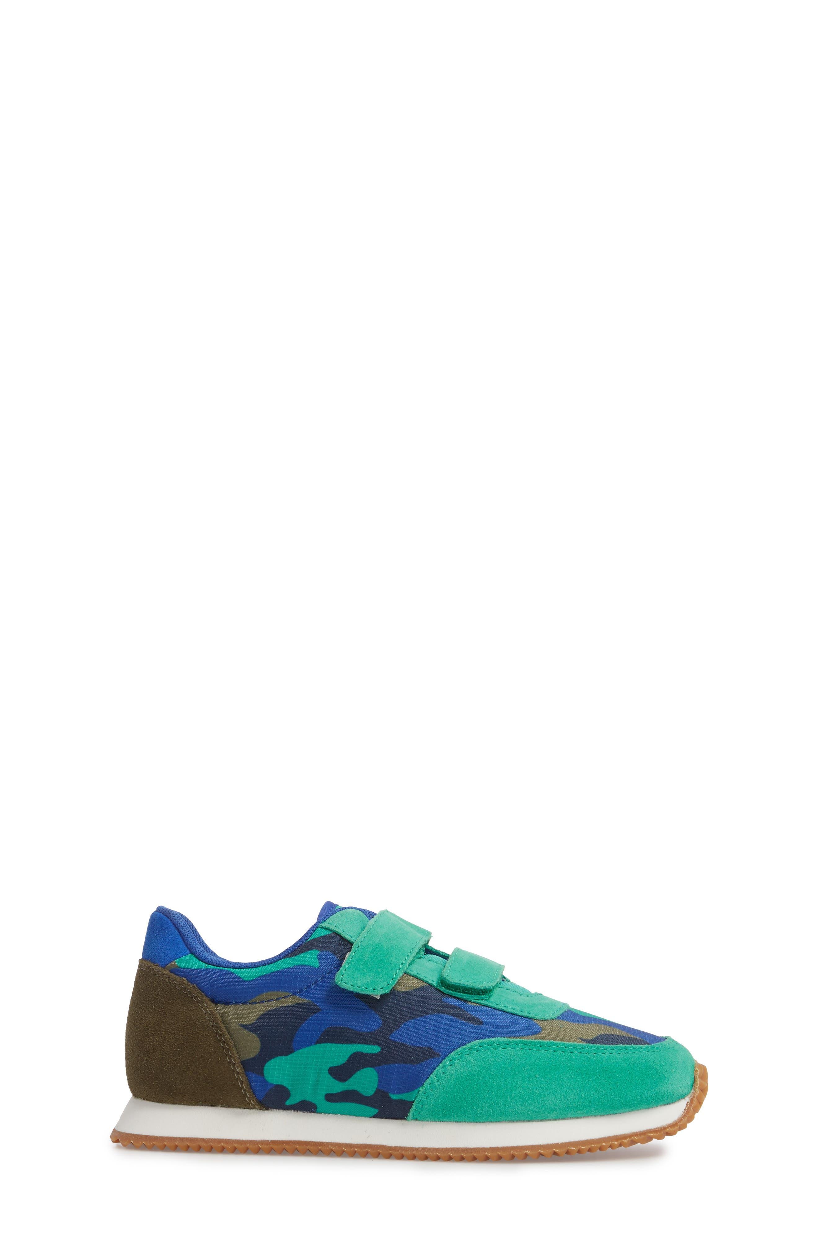 Print Sneakers,                             Alternate thumbnail 3, color,                             Astro Green