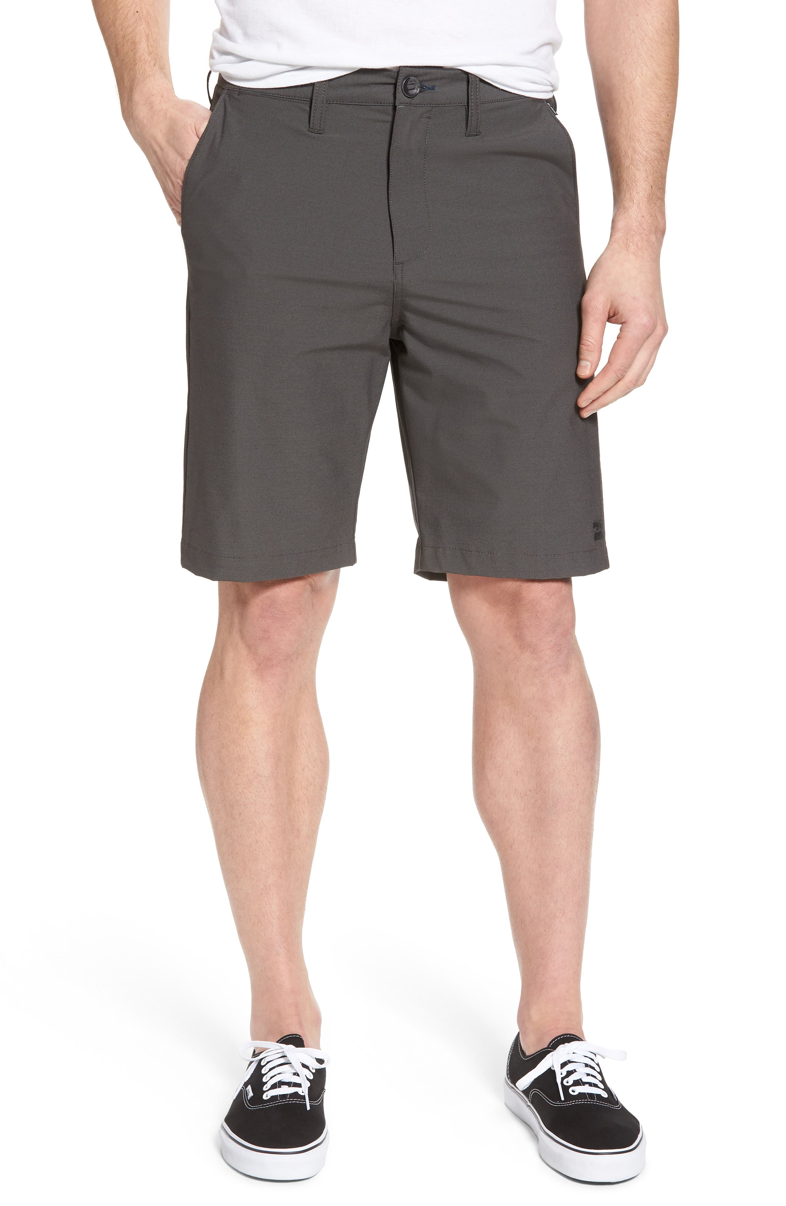 Crossfire X Submersible Twill Shorts,                             Main thumbnail 1, color,                             Black