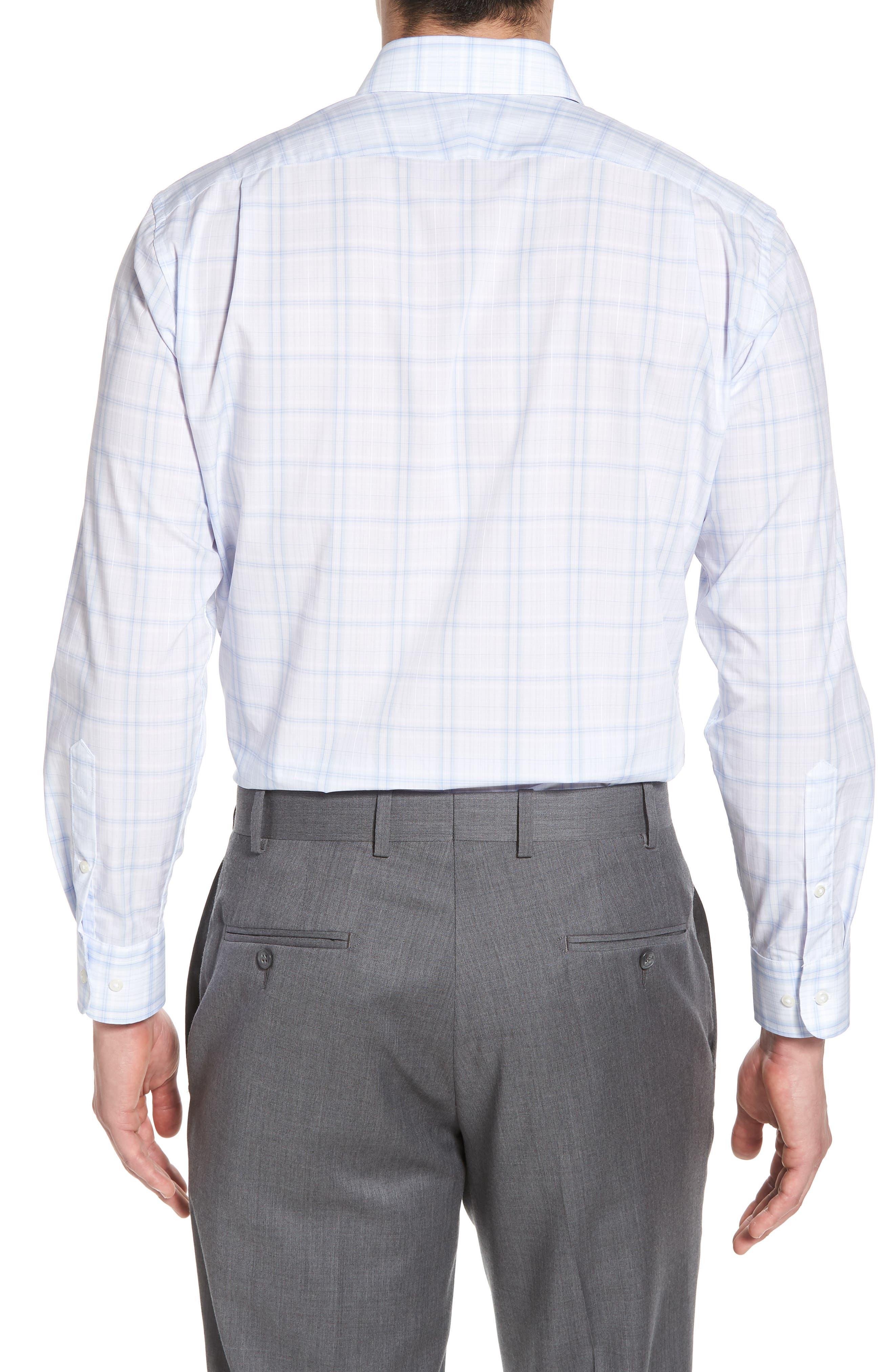 Alternate Image 2  - Nordstrom Men's Shop Trim Fit Check Dress Shirt