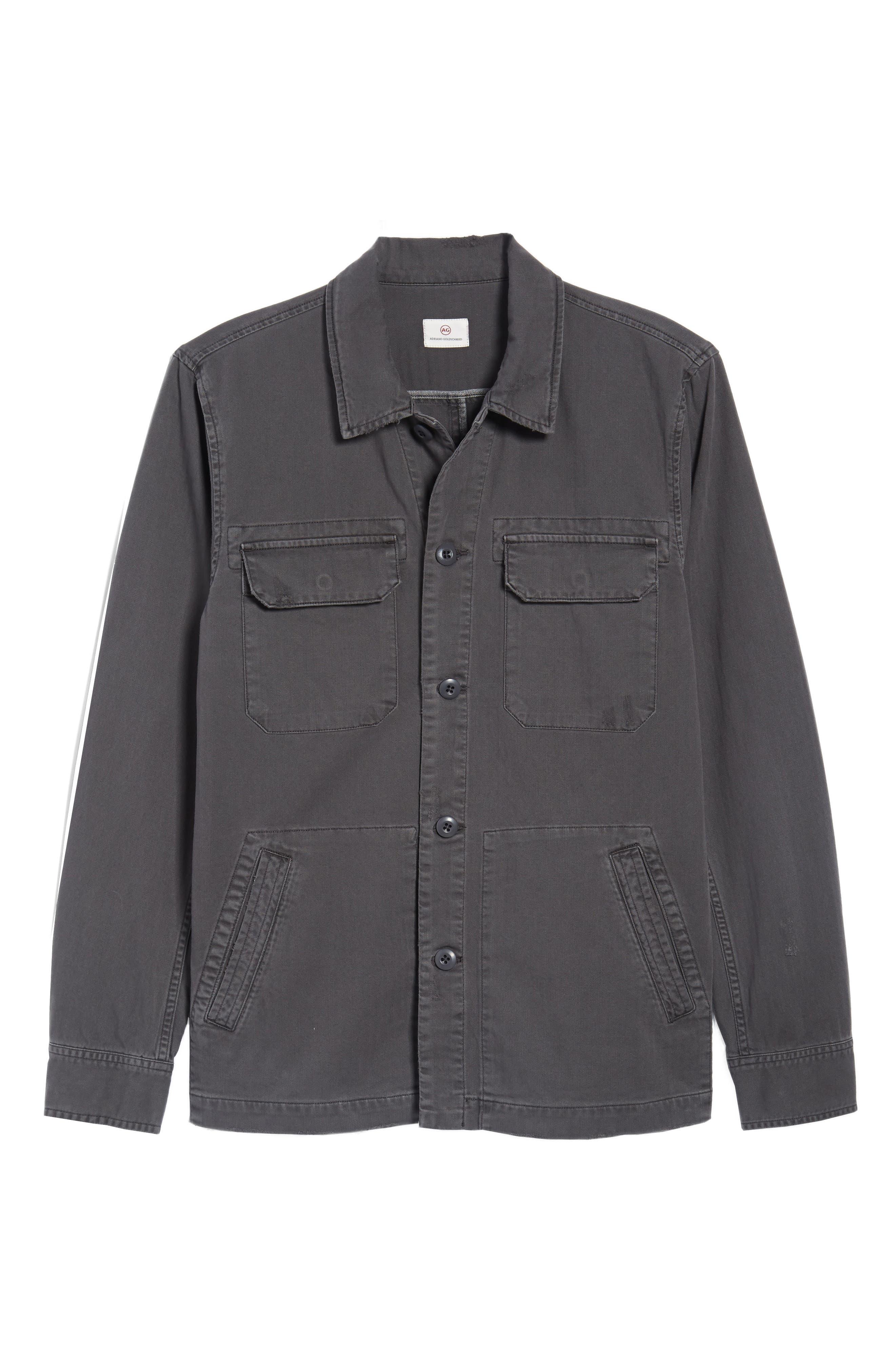 Marx Slim Fit Jacket,                             Alternate thumbnail 6, color,                             5 Years Pigment Smoke Grey