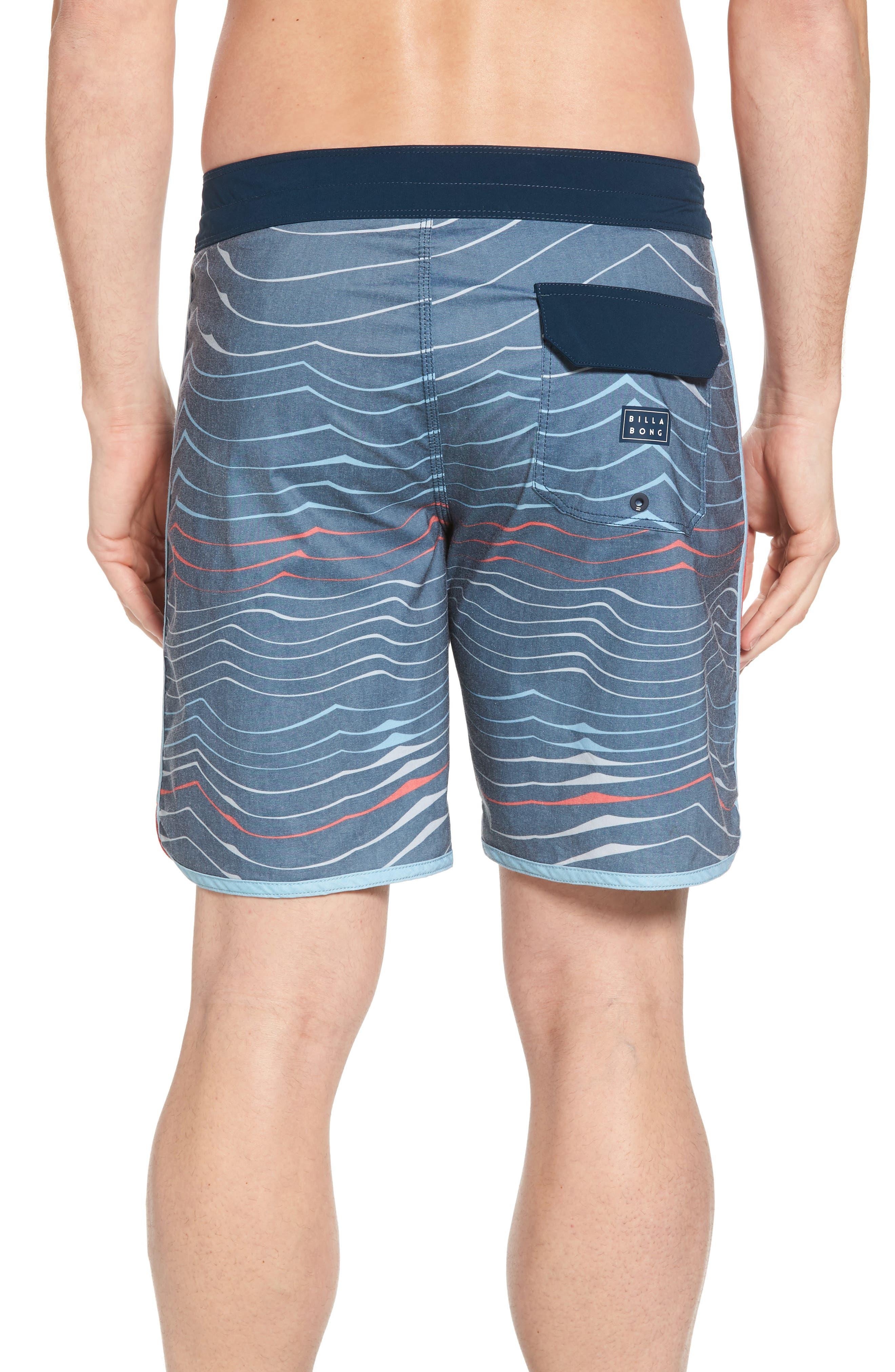 73 X Lineup Board Shorts,                             Alternate thumbnail 2, color,                             Navy