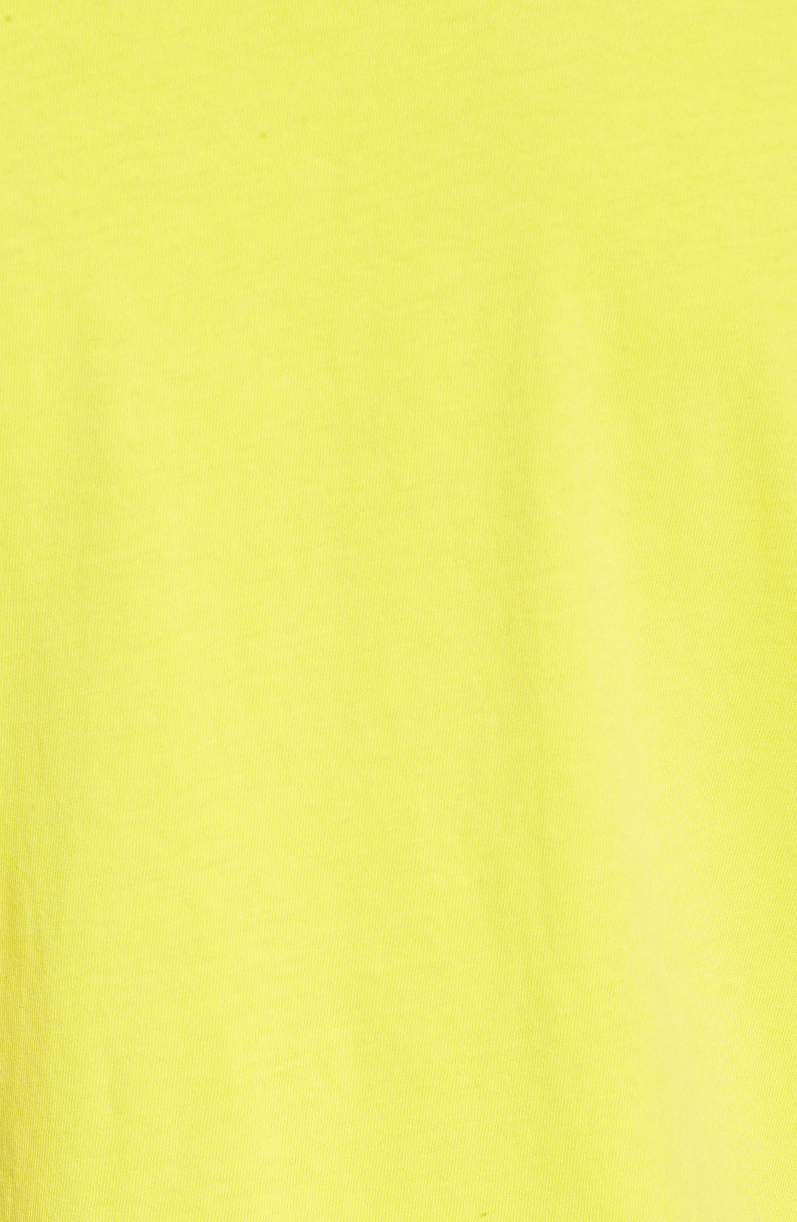 No Tourist Patch T-Shirt,                             Alternate thumbnail 5, color,                             Green Sheen