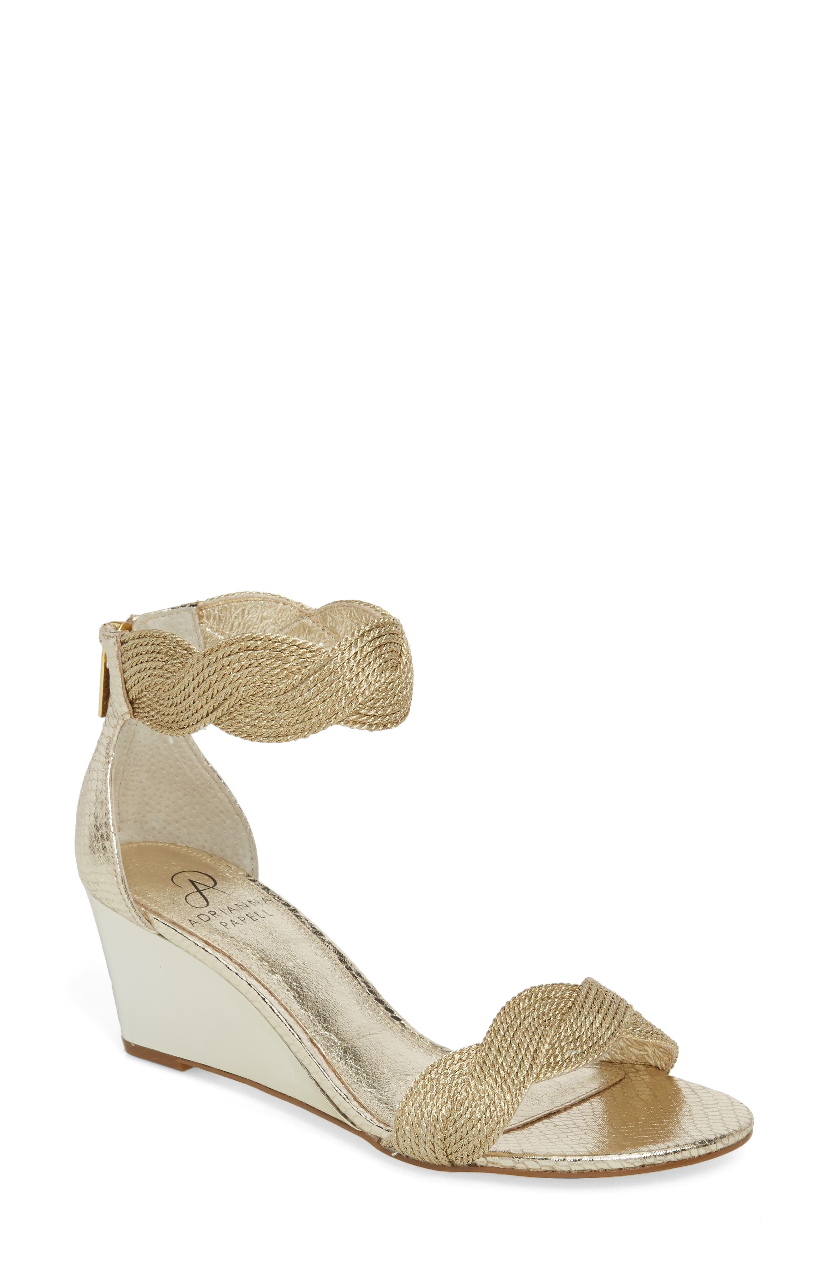 Adrianna Papell Adore Ankle Strap Sandal (Women)