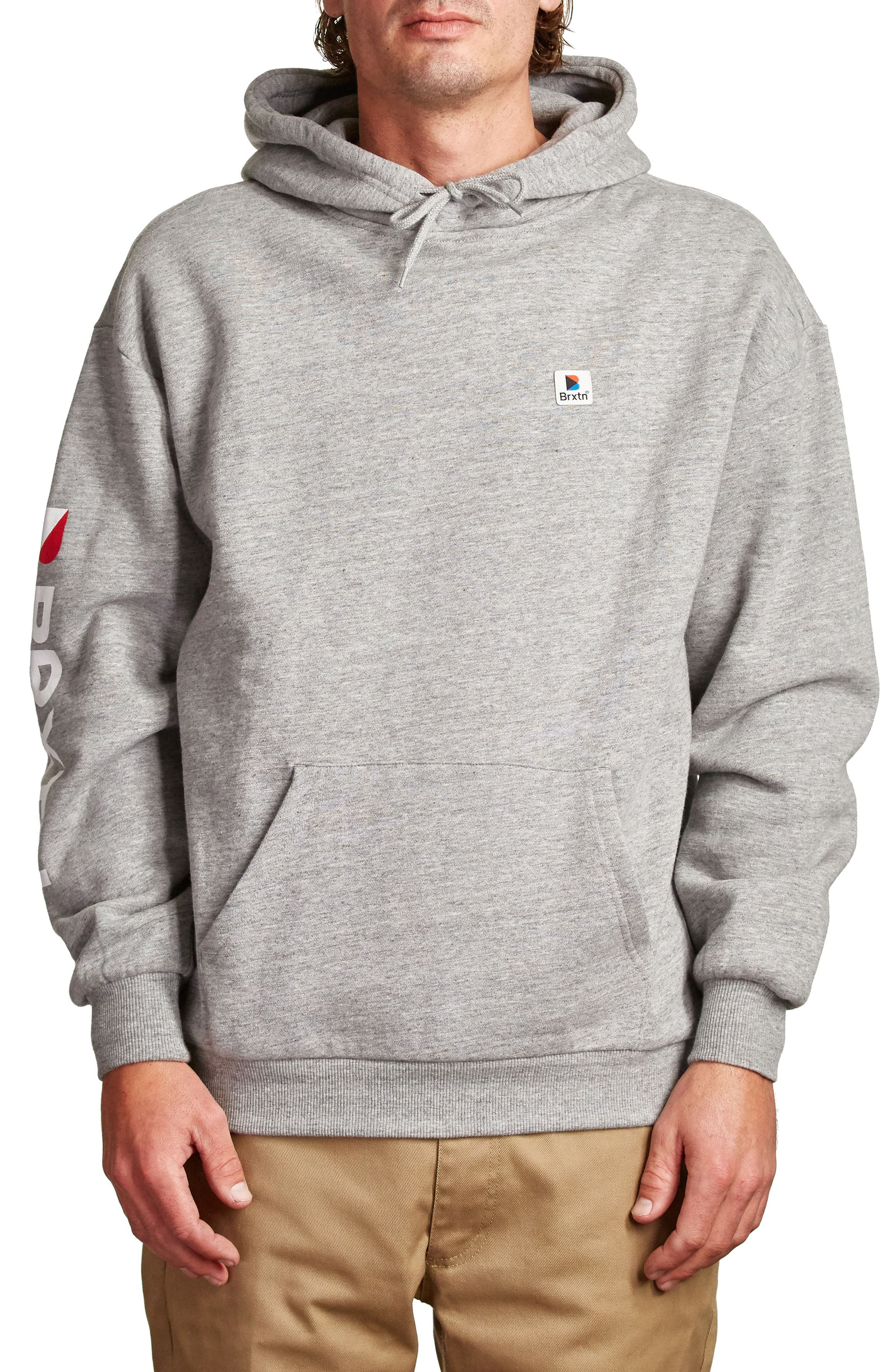 Stowell Hoodie Sweatshirt,                             Main thumbnail 1, color,                             Heather Grey