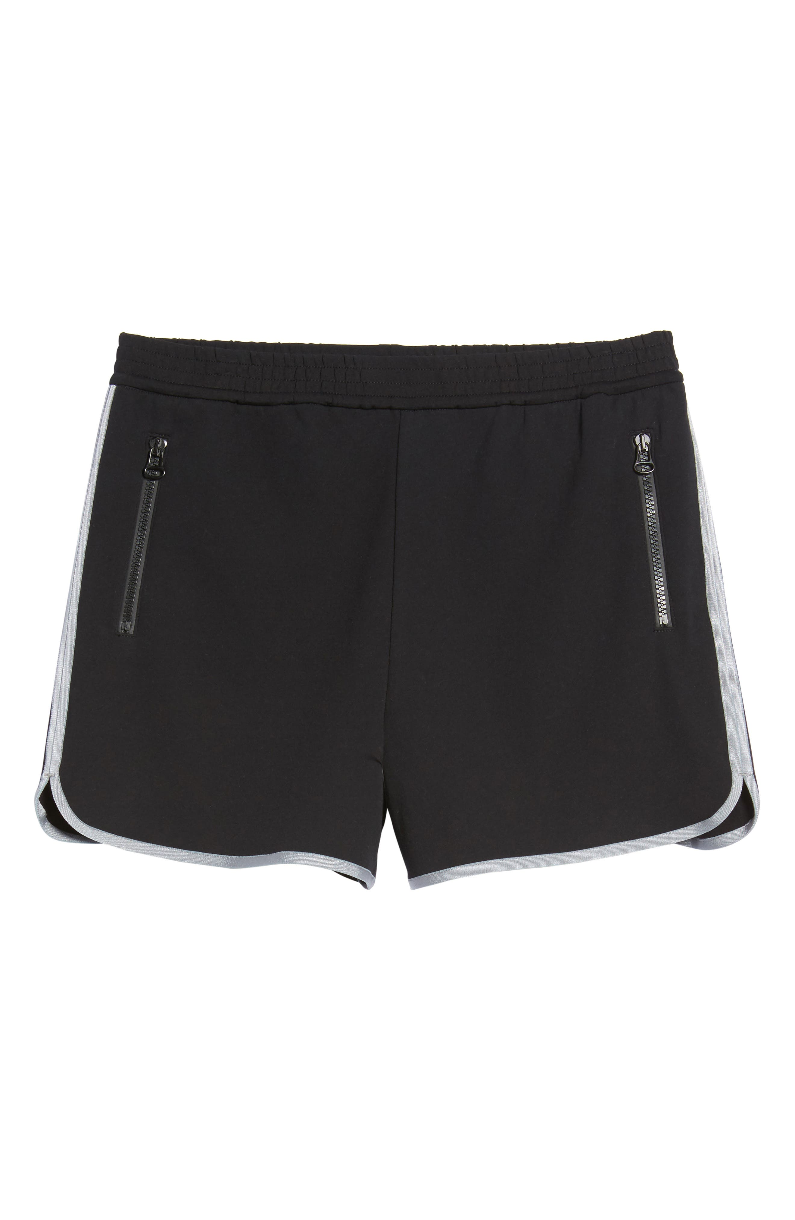 Gym Shorts,                             Alternate thumbnail 6, color,                             Black