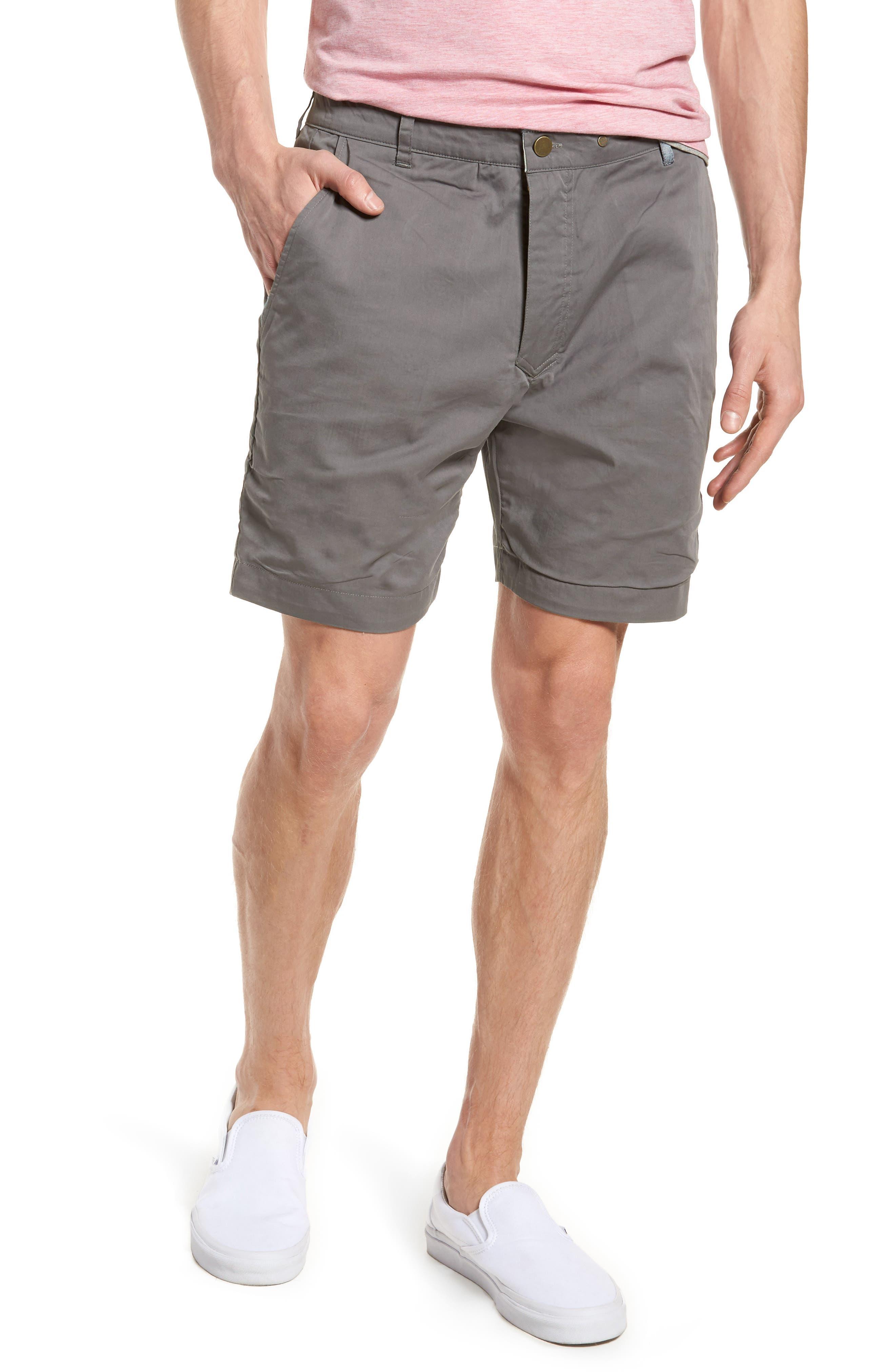 Descendant of Thieves Aqua Palms Reversible Shorts