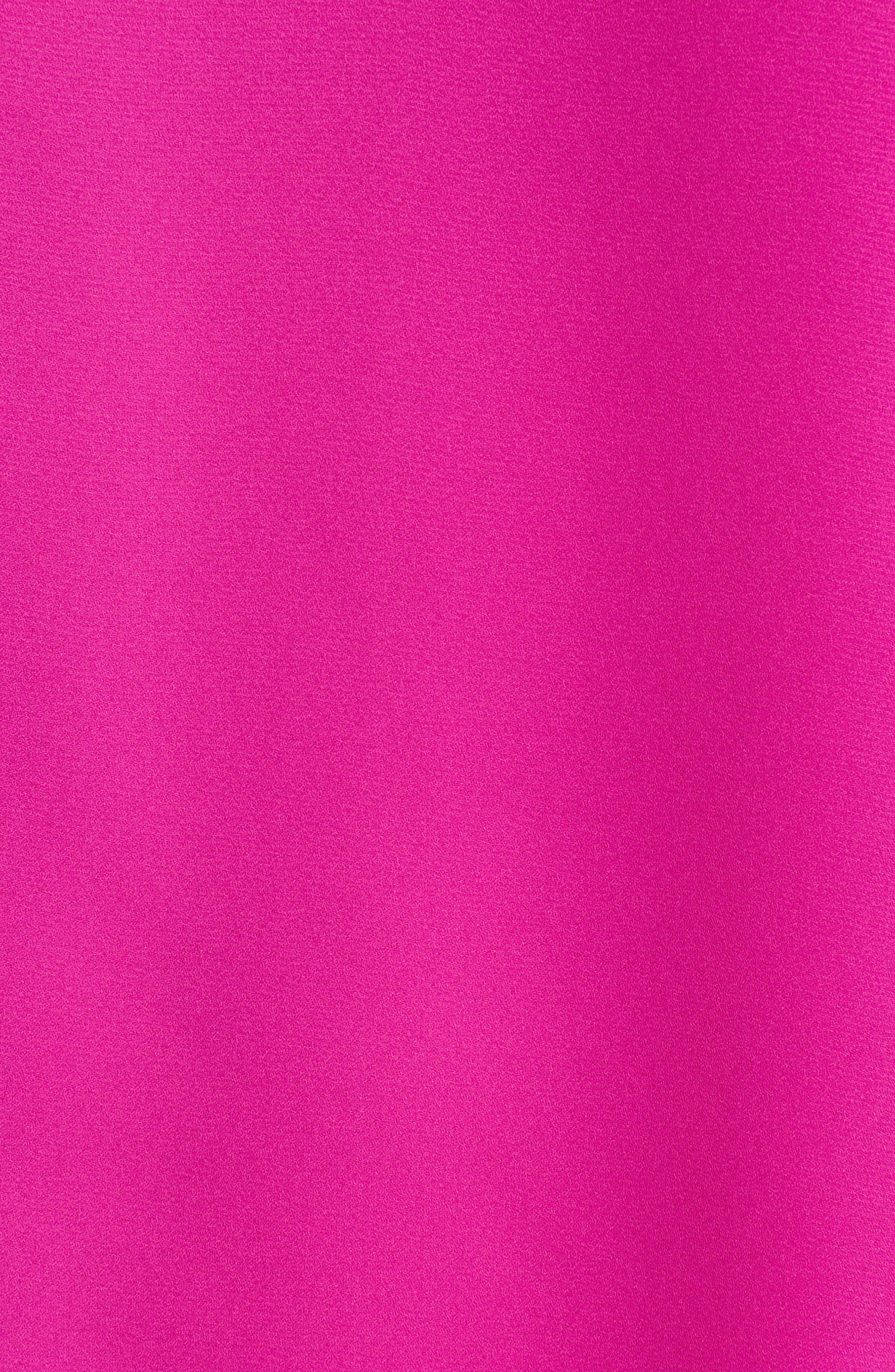 Ruffle Sleeve V-Neck Blouse,                             Alternate thumbnail 5, color,                             686-Pink Nouveau
