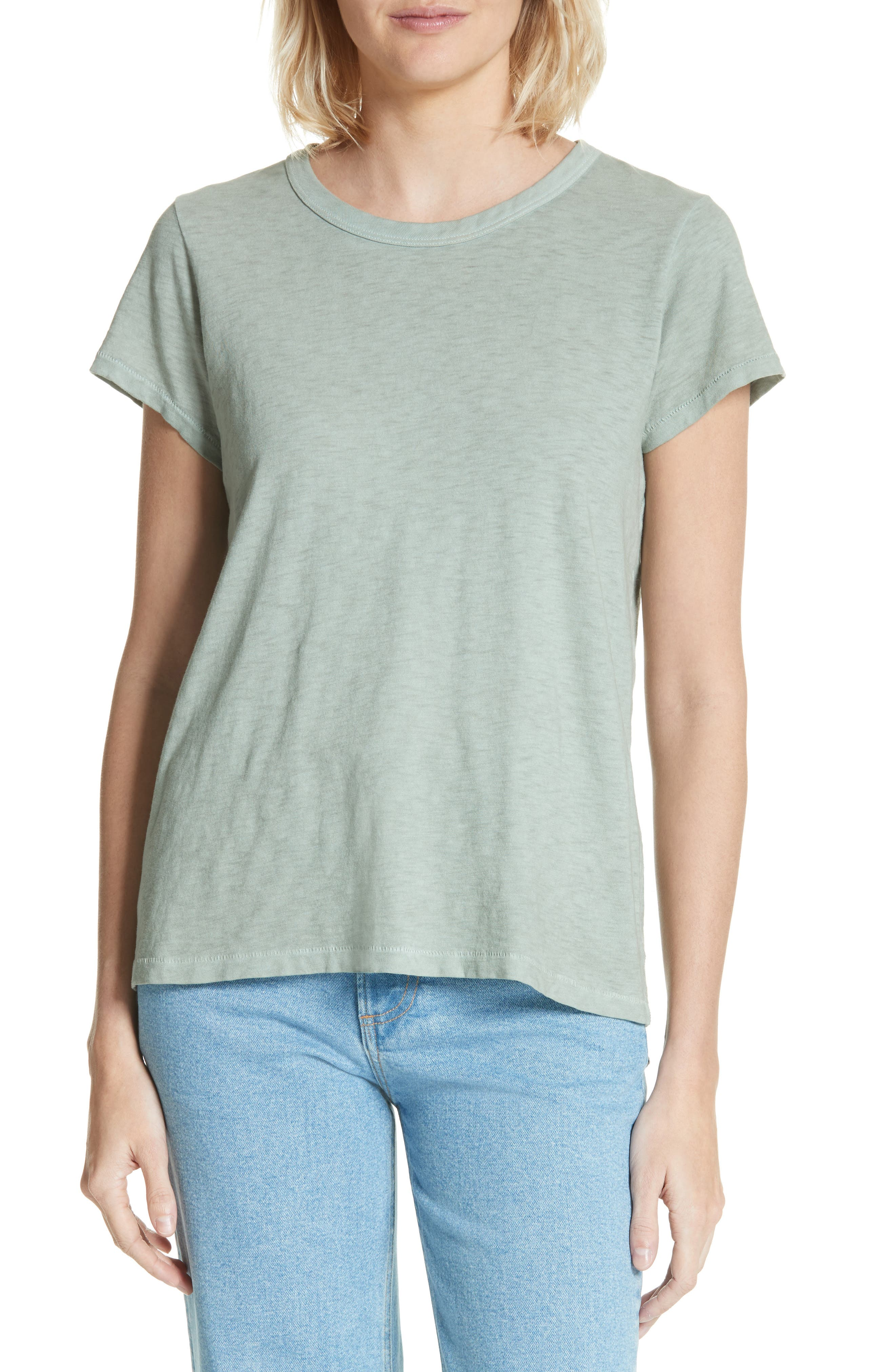 The Tee,                         Main,                         color, Sage