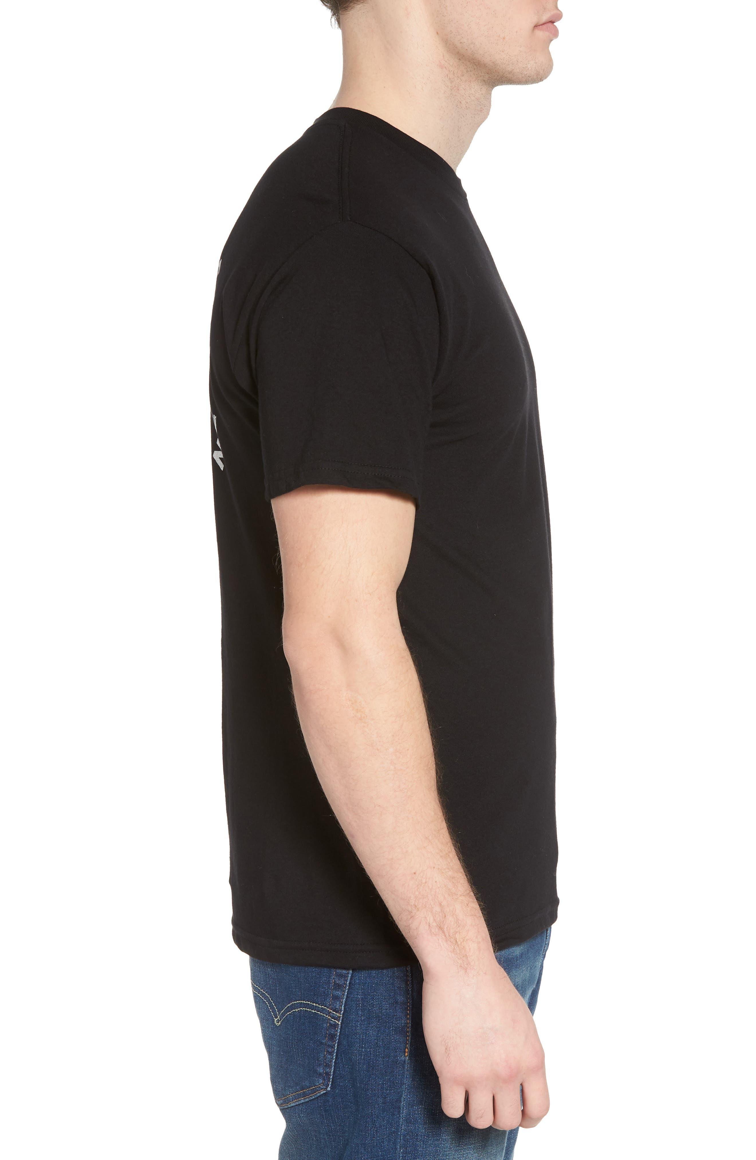 Enemy Graphic T-Shirt,                             Alternate thumbnail 3, color,                             Black
