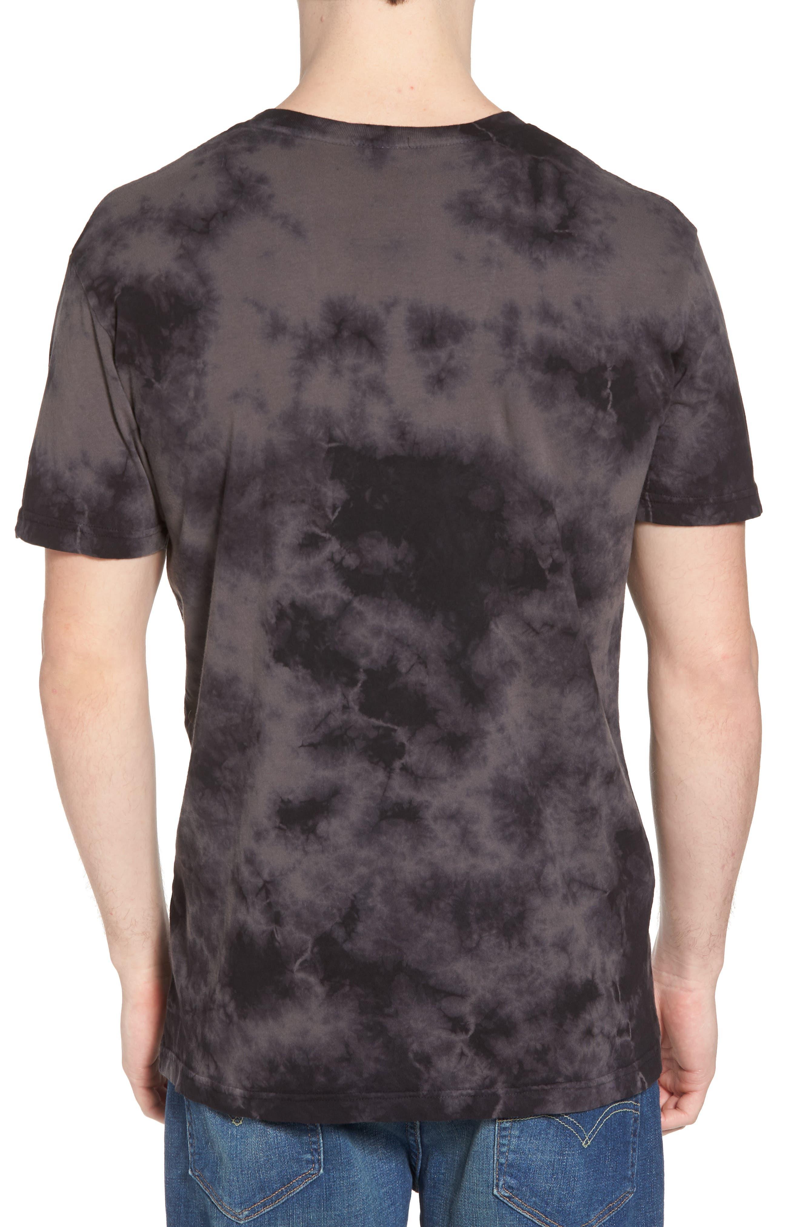 Cult Graphic T-Shirt,                             Alternate thumbnail 2, color,                             Black Wash