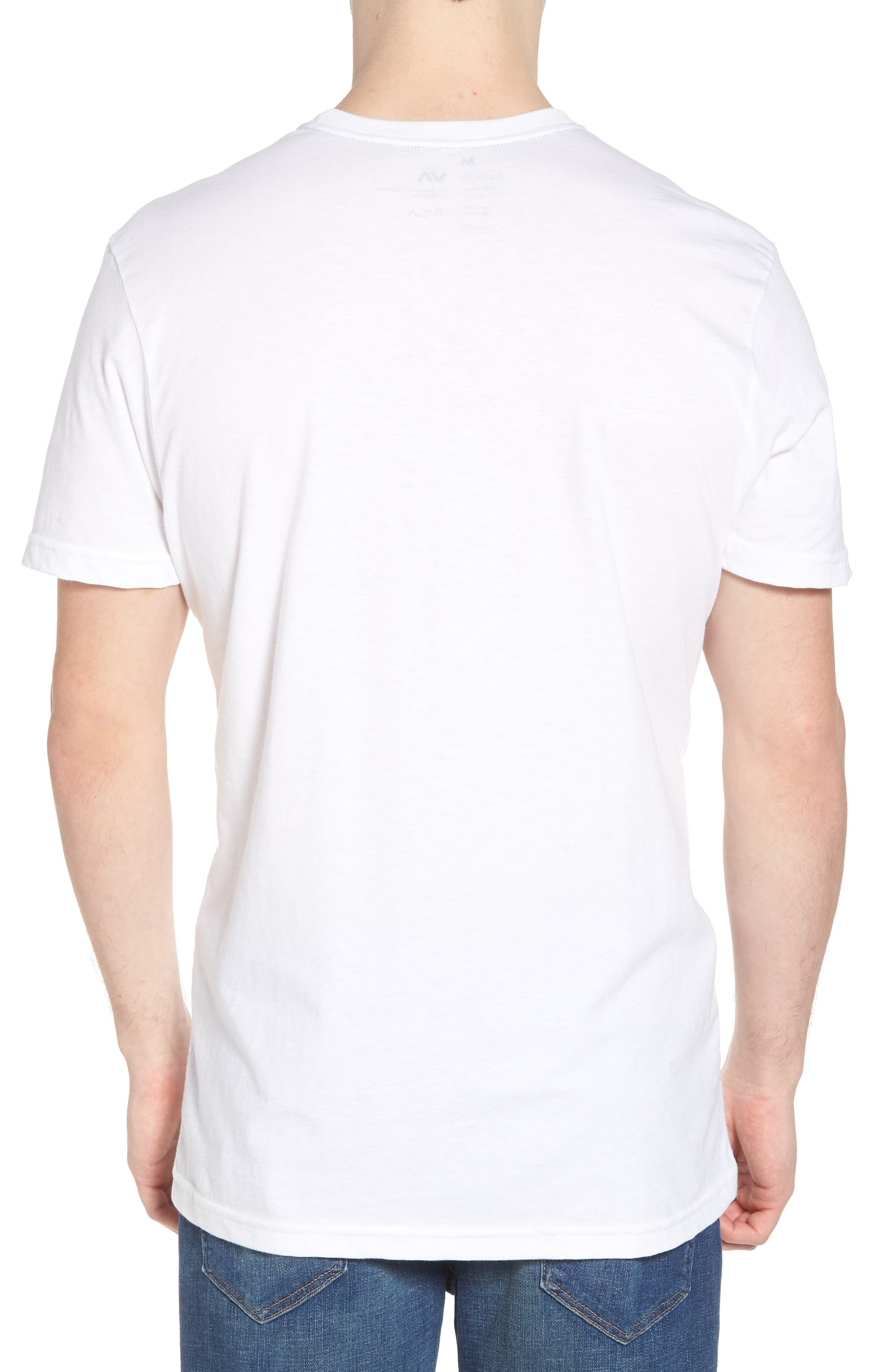 Lock In Graphic T-Shirt,                             Alternate thumbnail 2, color,                             White