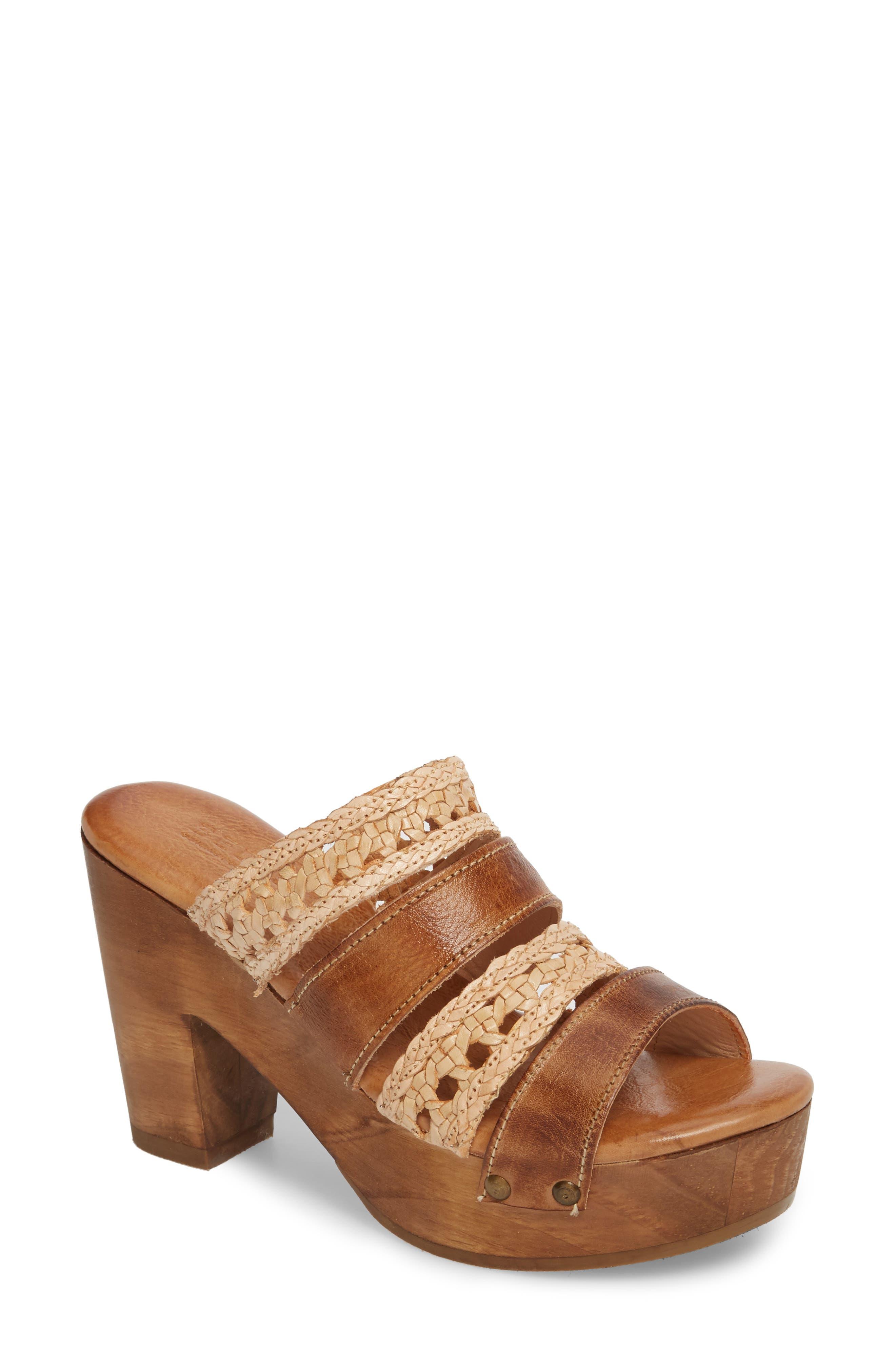 Bed Stu Crystal Platform Slide Sandal (Women)
