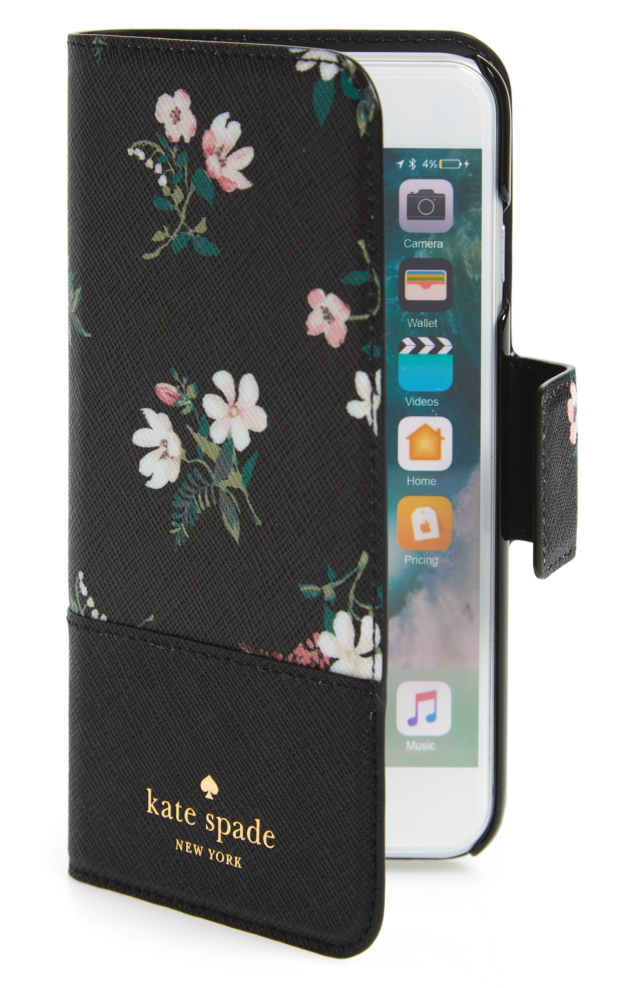 kate spade new york cedar street faux leather iPhone 7/8 & 7/8 Plus folio case
