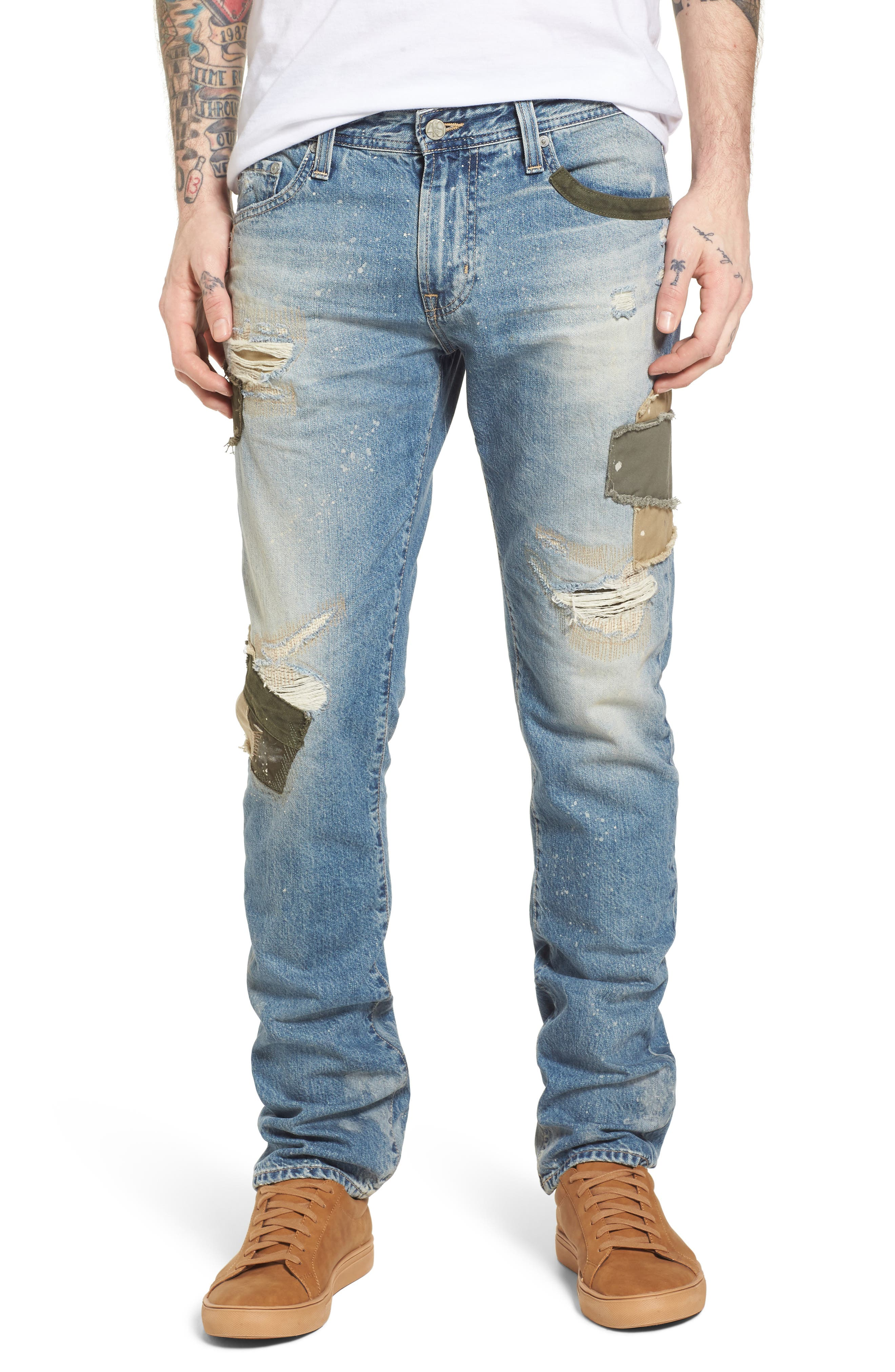 AG Tellis Slim Fit Jeans (17 Years Pottery)
