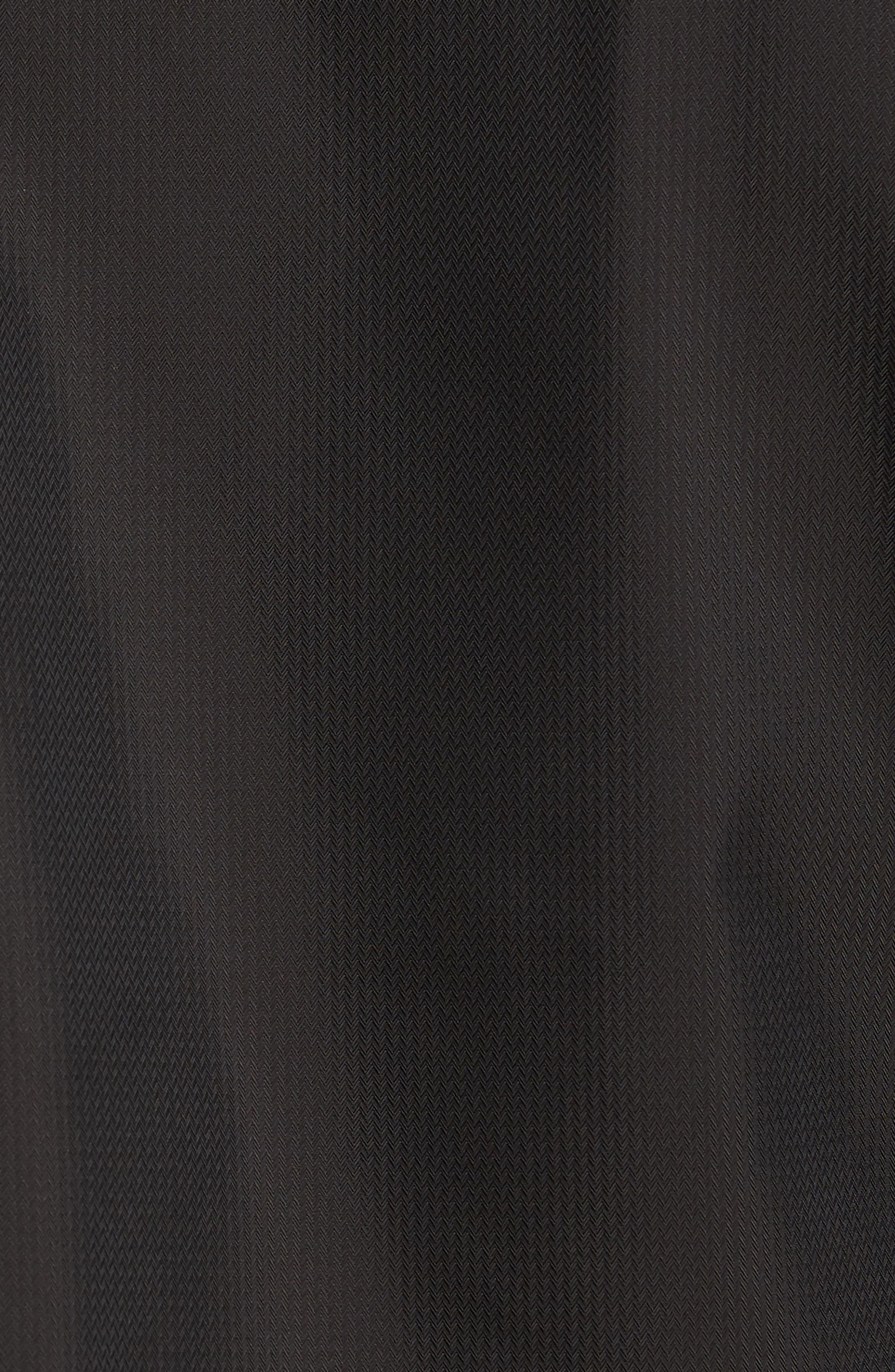 Calgar Nylon Bomber Jacket,                             Alternate thumbnail 5, color,                             Black