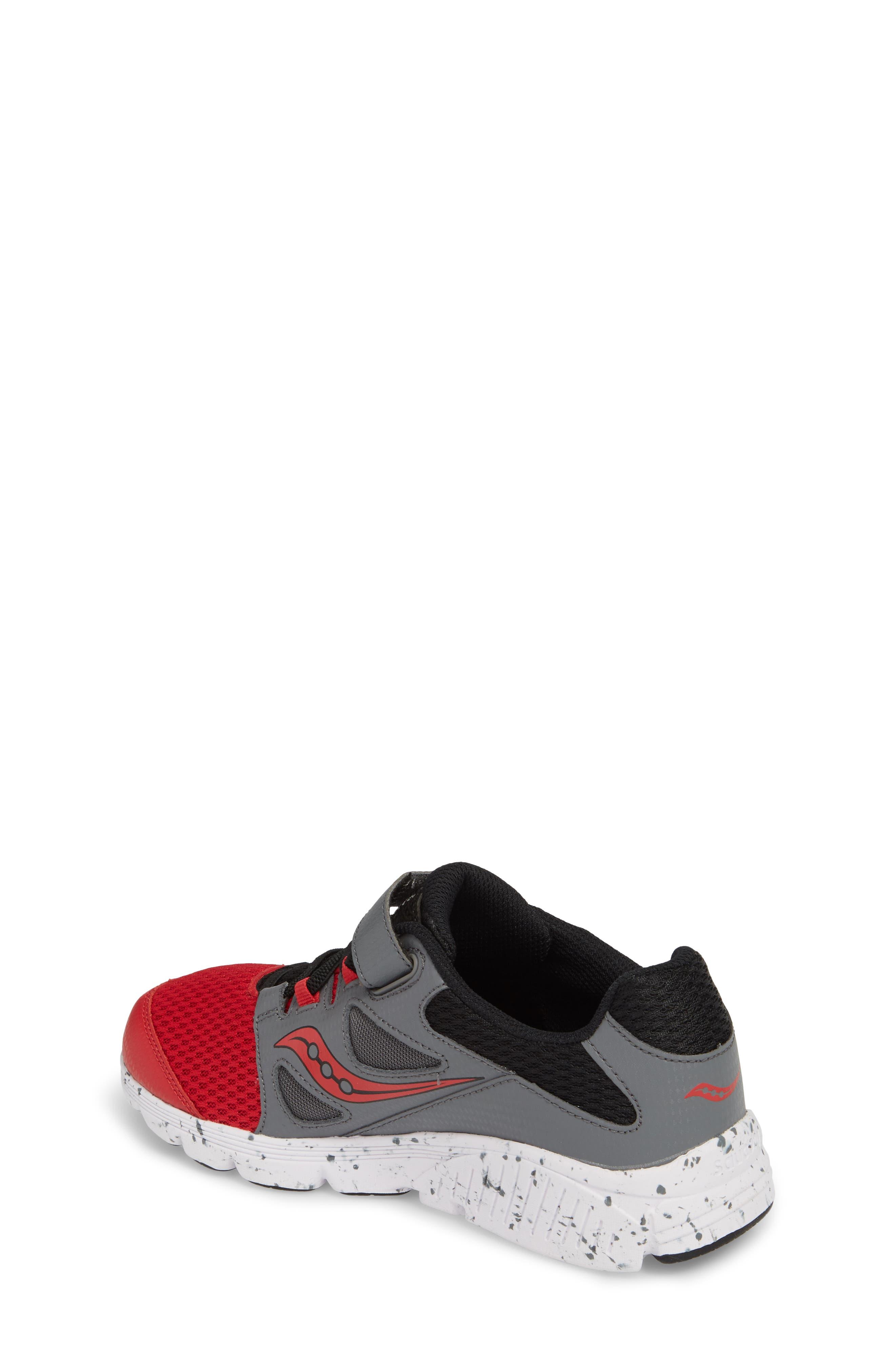 Kotaro 4 Sneaker,                             Alternate thumbnail 2, color,                             Red/ Grey