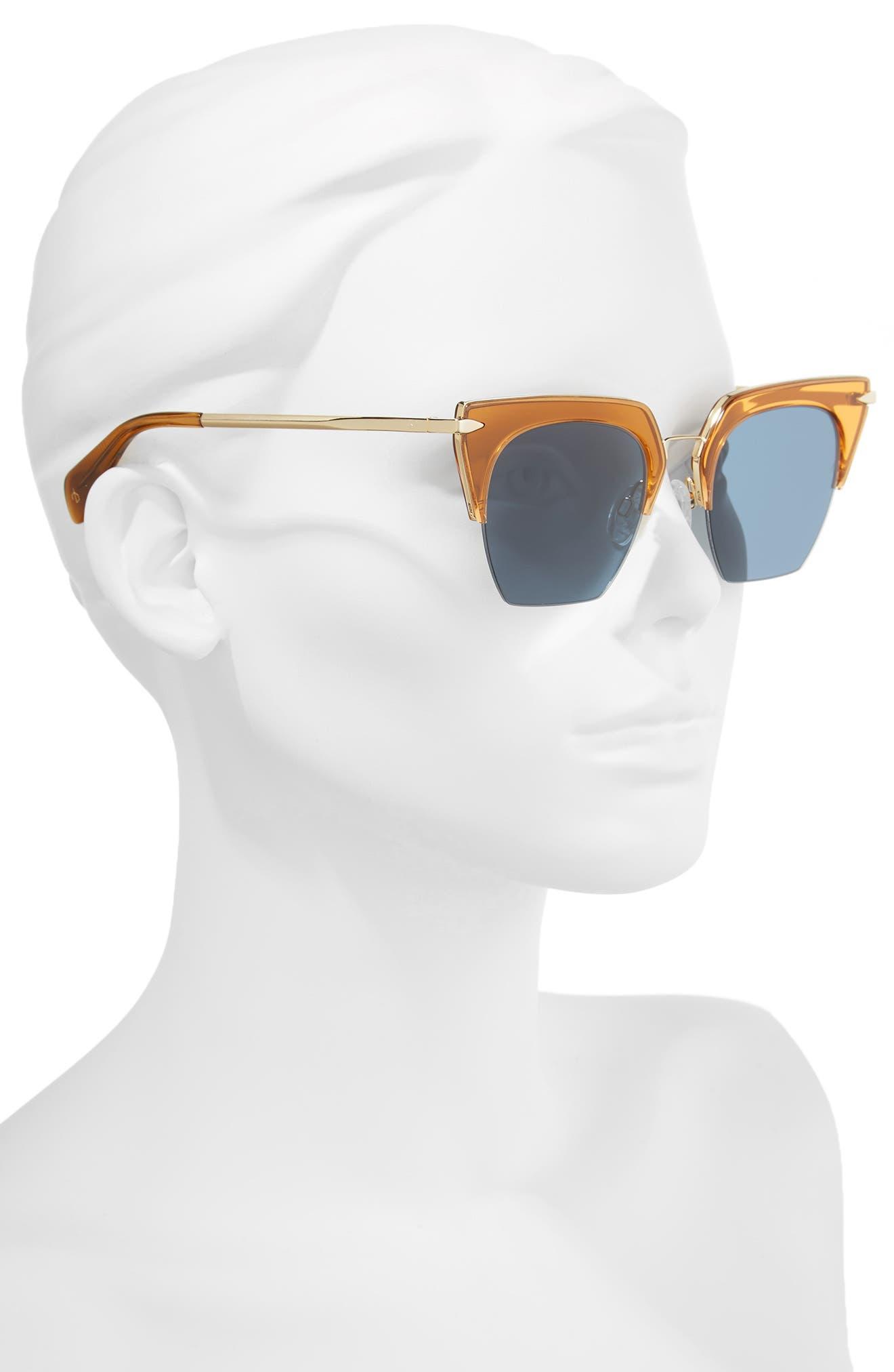 Alternate Image 2  - rag & bone 51mm Cat Eye Sunglasses