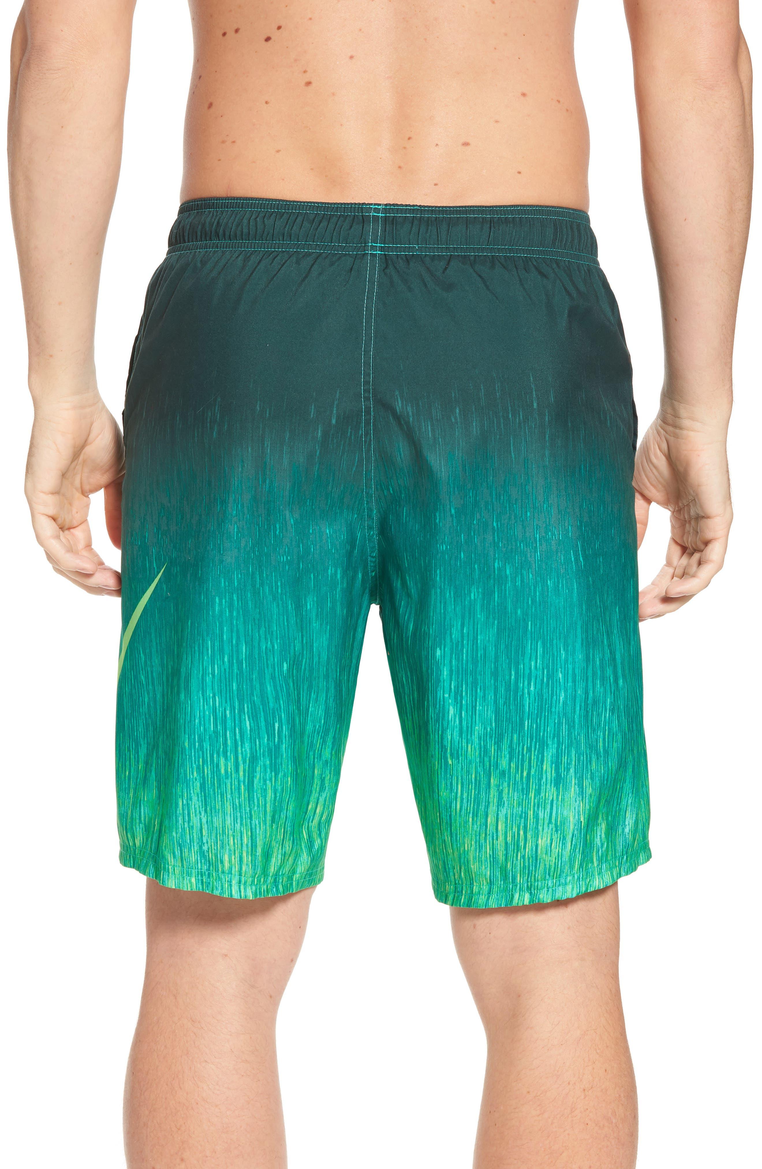 Breaker Swim Trunks,                             Alternate thumbnail 2, color,                             Clear Emerald