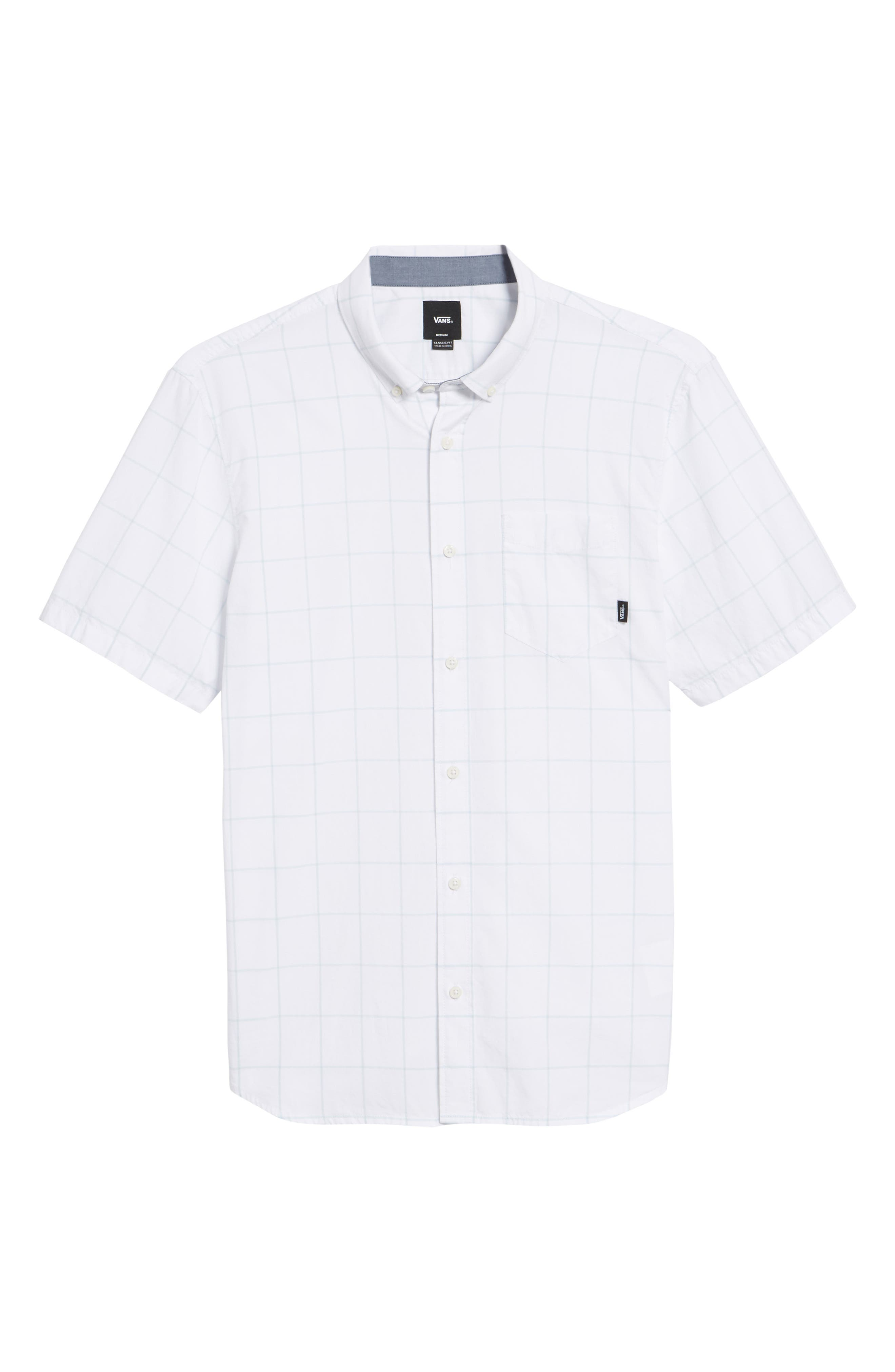 Alternate Image 6  - Vans Benham Short-Sleeve Shirt