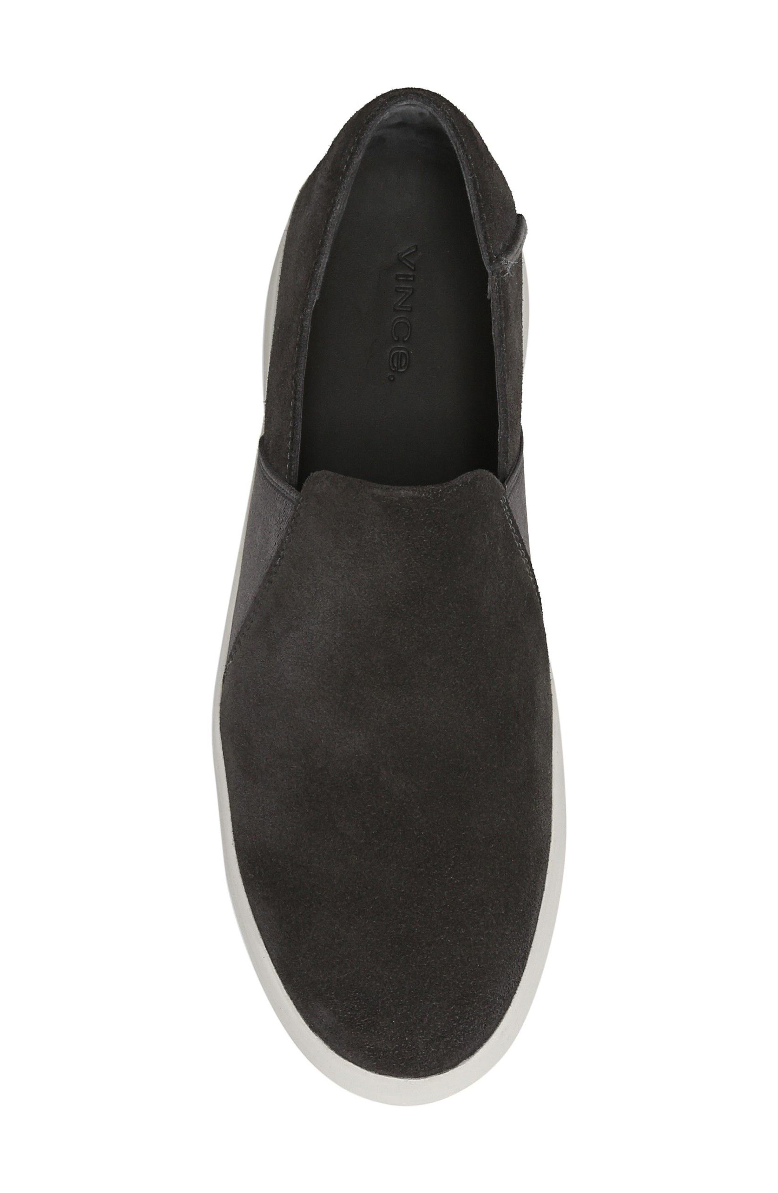 Carlin Slip-On Sneaker,                             Alternate thumbnail 5, color,                             Graphite