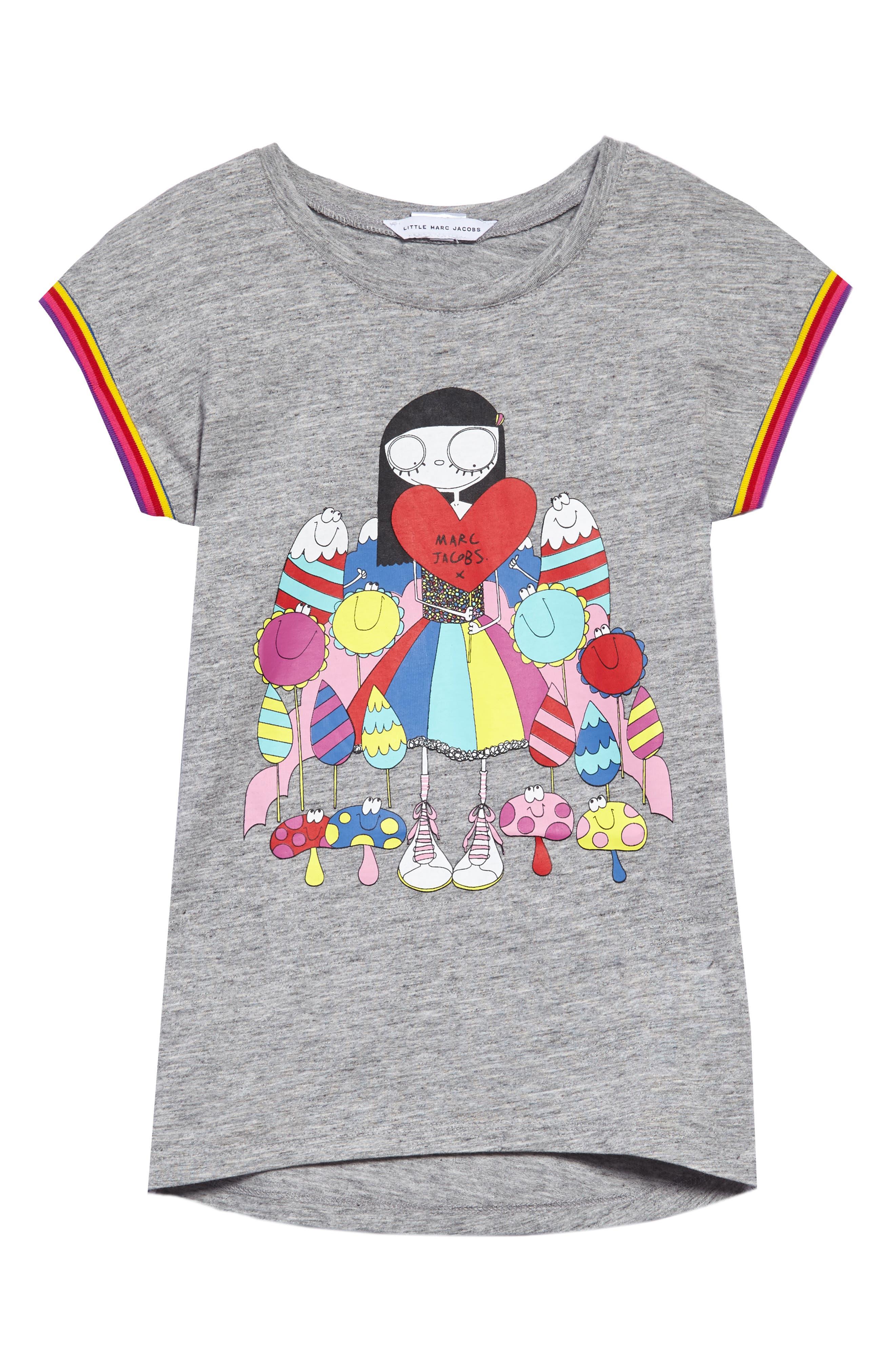 Main Image - LITTLE MARC JACOBS Miss Marc Dress (Toddler Girls, Little Girls & Big Girls)