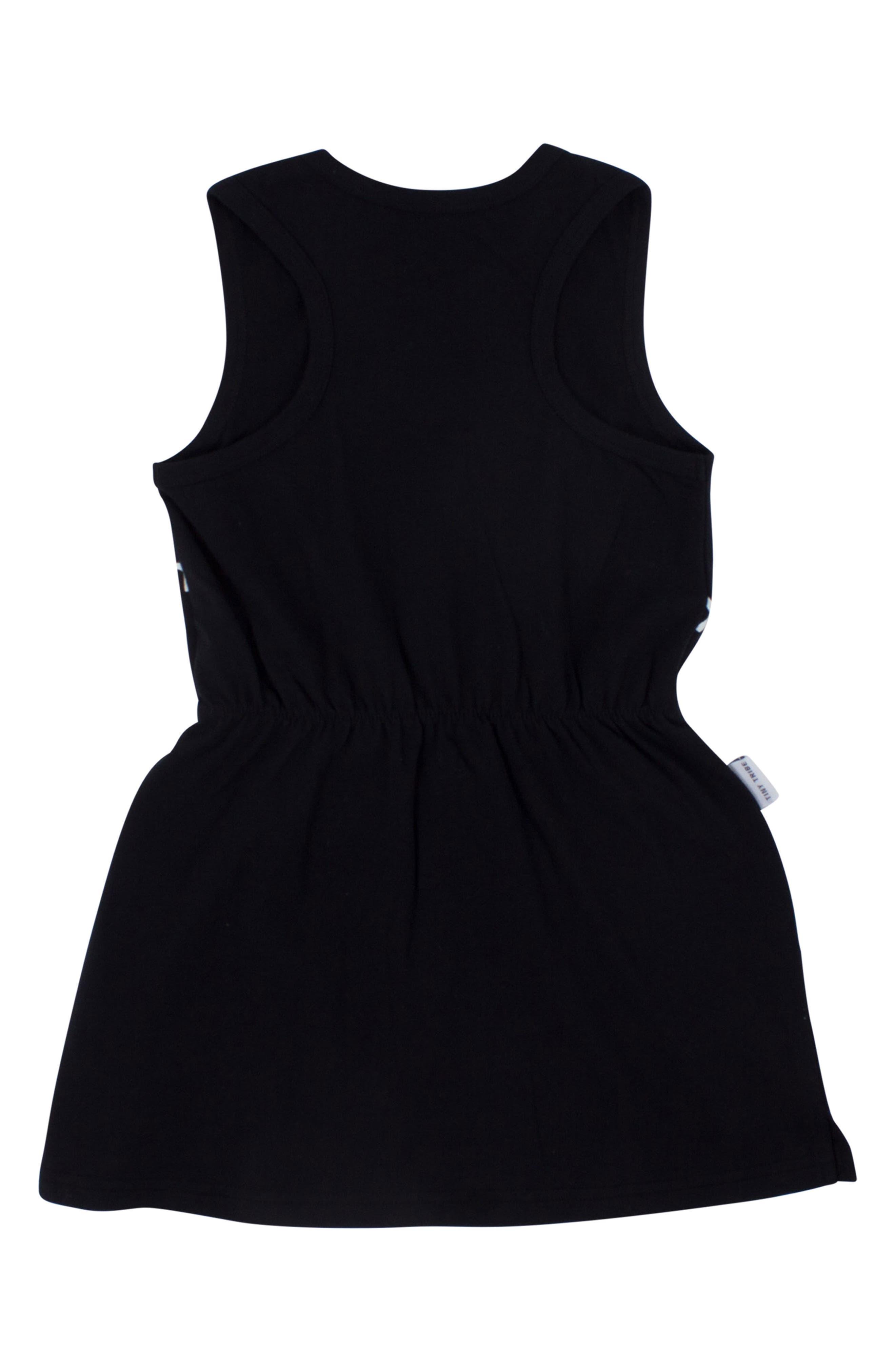 Yeah the Girls Racerback Dress,                             Alternate thumbnail 2, color,                             Black