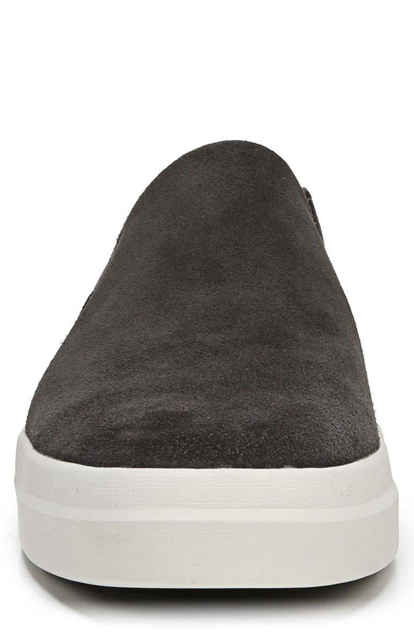 Carlin Slip-On Sneaker,                             Alternate thumbnail 4, color,                             Graphite