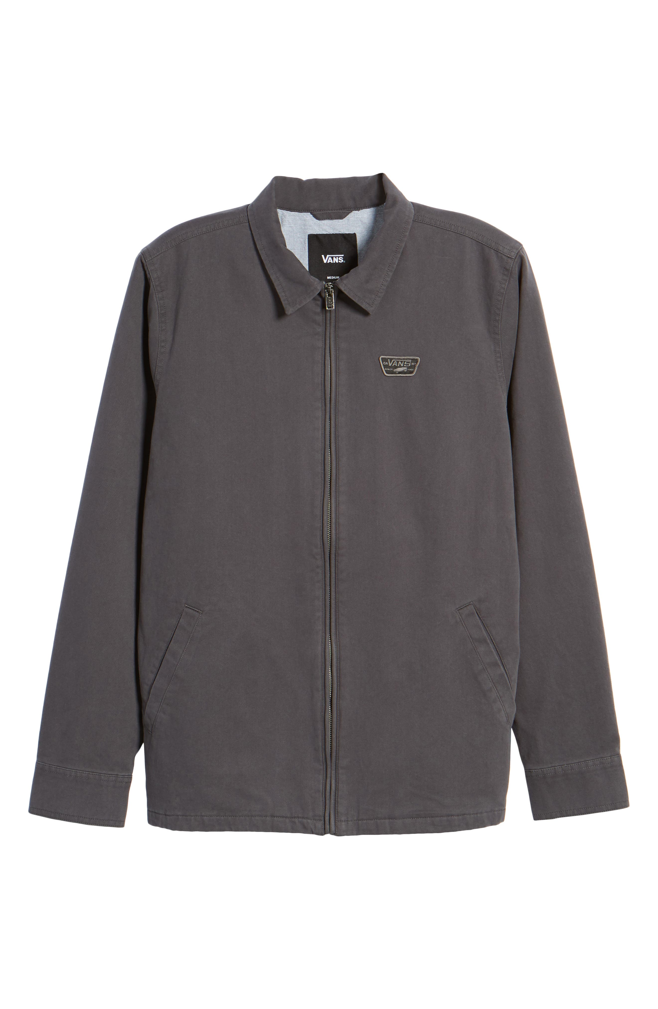 Belfair II Garage Jacket,                             Alternate thumbnail 6, color,                             Asphalt