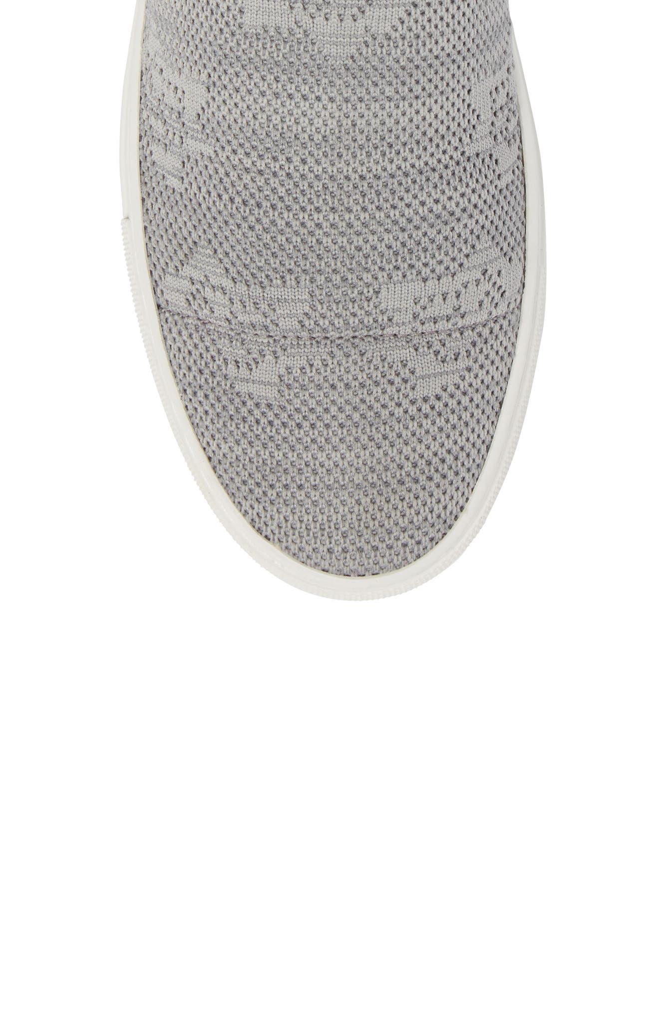Keating Sneaker,                             Alternate thumbnail 5, color,                             Dust Grey Fabric