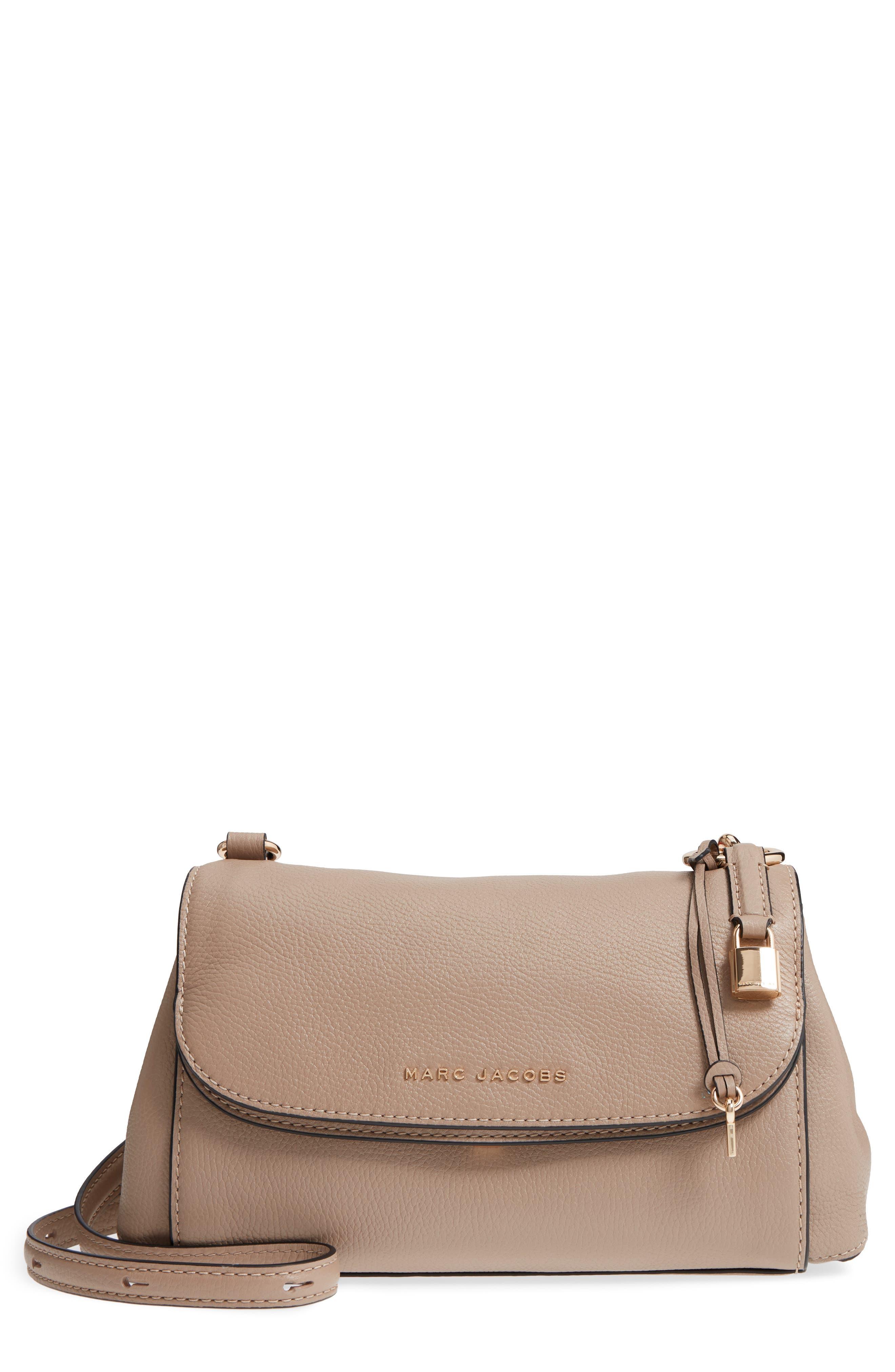 The Grind Boho Leather Shoulder Bag,                             Main thumbnail 1, color,                             Light Slate