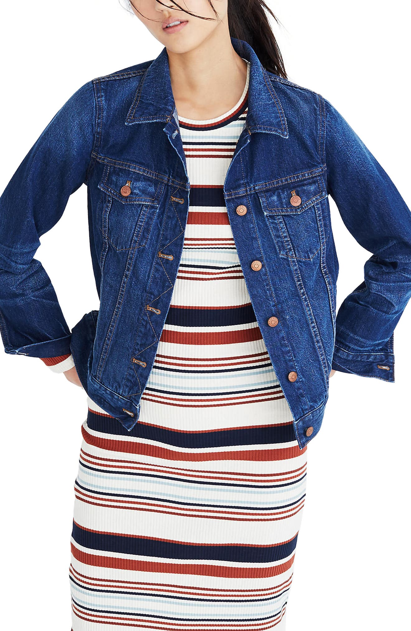 Madewell The Jean Jacket (Briarwood Wash)