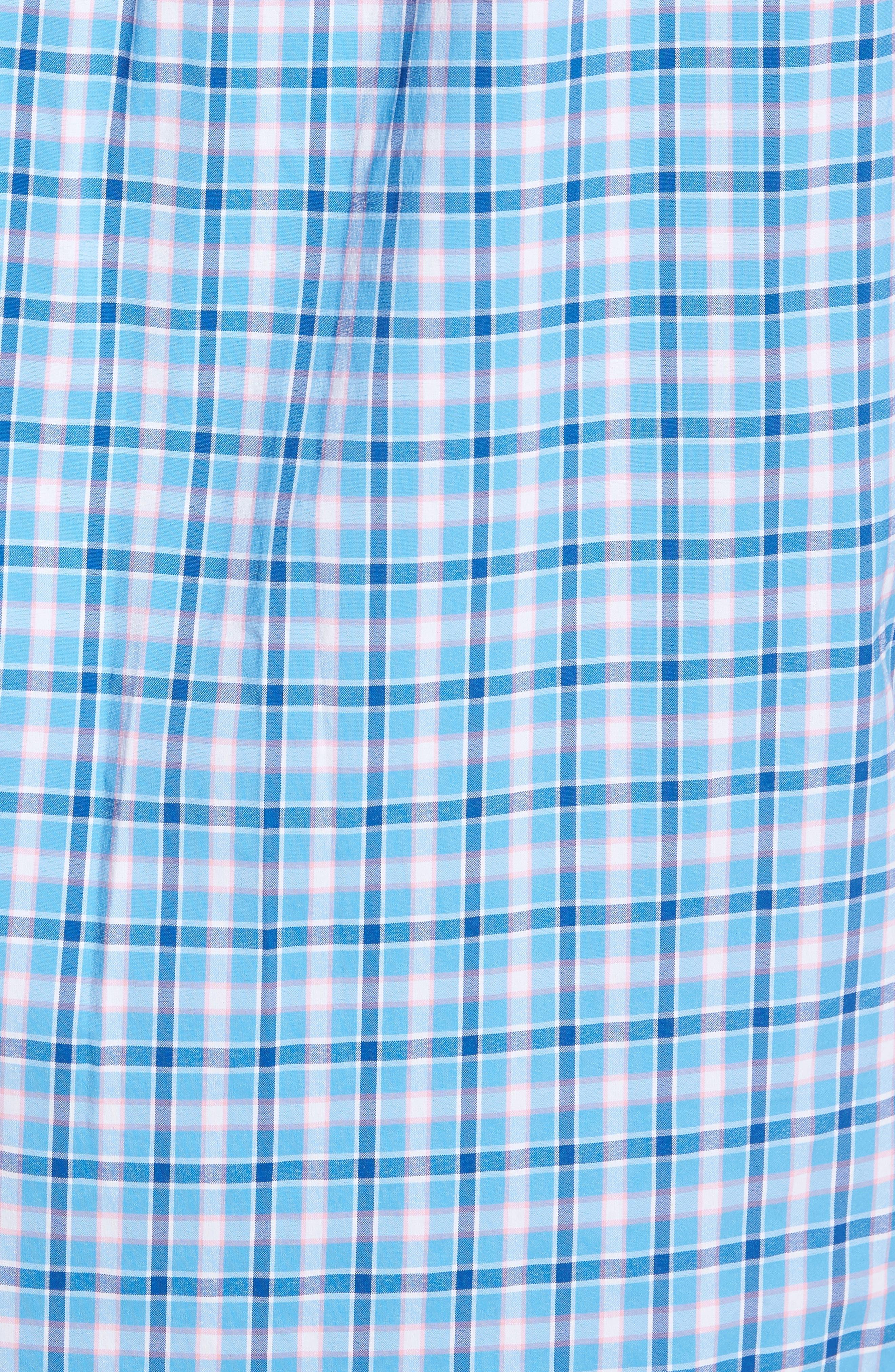 Alternate Image 5  - vineyard vines Lyford Cay Classic Fit Stretch Check Sport Shirt