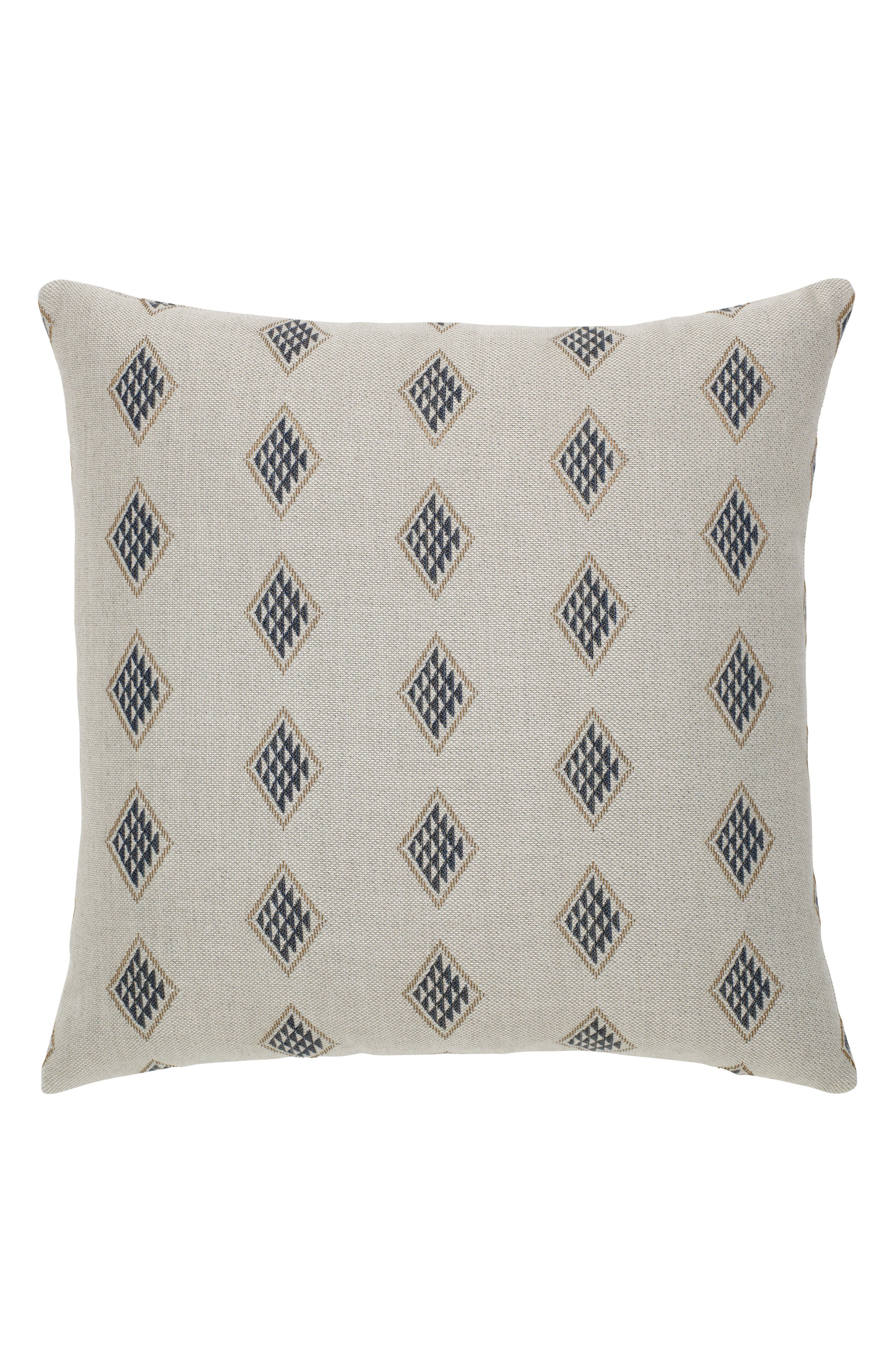 Passage Indoor/Outdoor Accent Pillow,                             Alternate thumbnail 3, color,                             Ivory